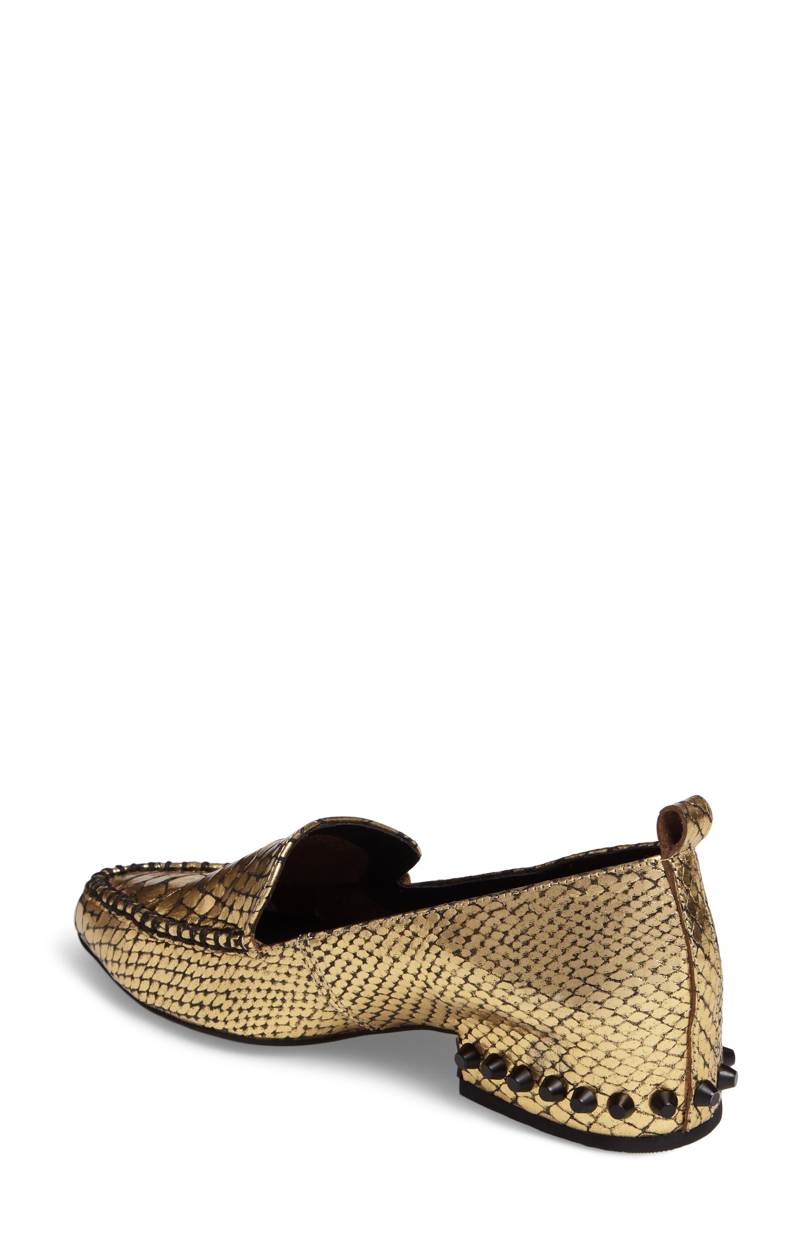Alternate Image 2  - Jeffrey Campbell Barnett Studded Loafer (Women)