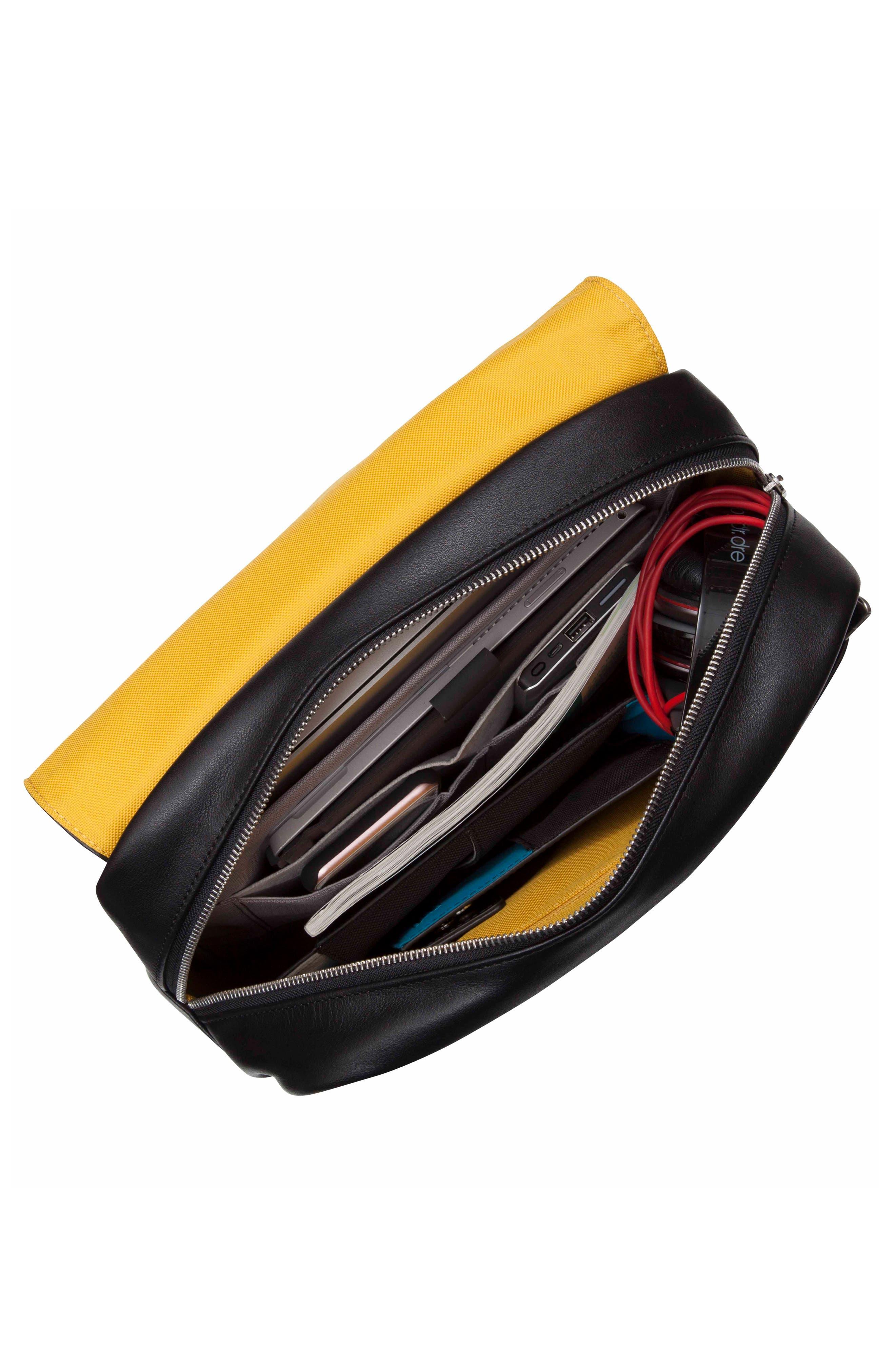 Alternate Image 4  - KNOMO London Brompton Hudson Leather Backpack