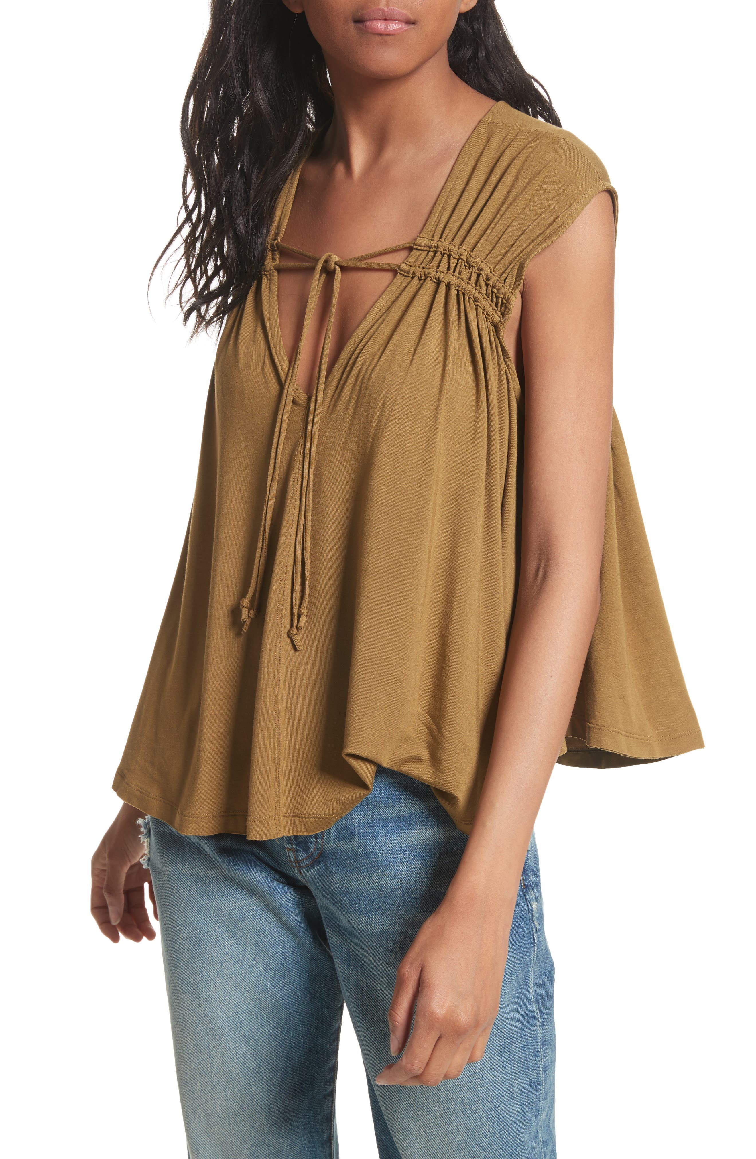 FREE PEOPLE Back in Town Top