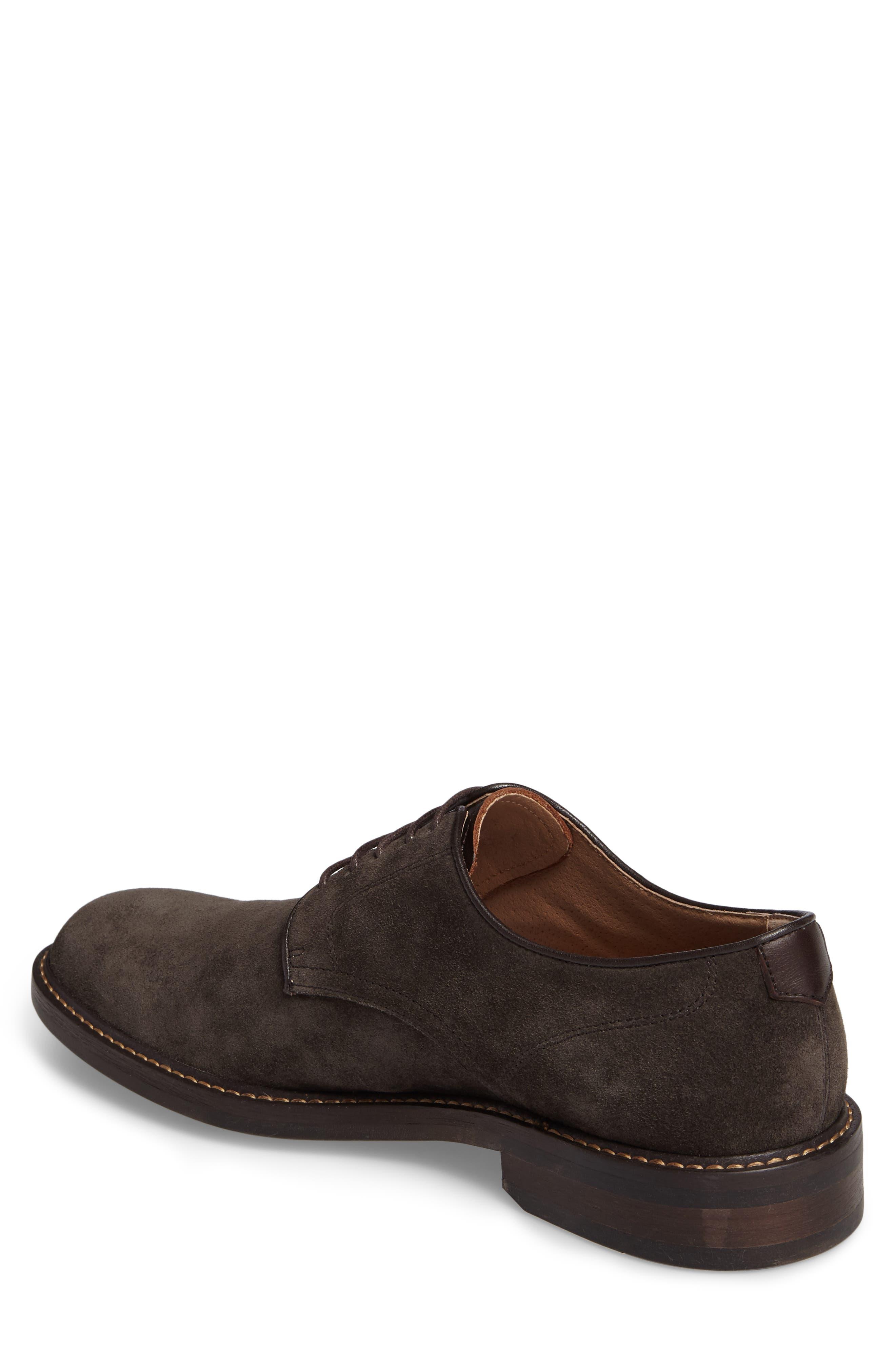 Byron Buck Shoe,                             Alternate thumbnail 2, color,                             Carbon Suede