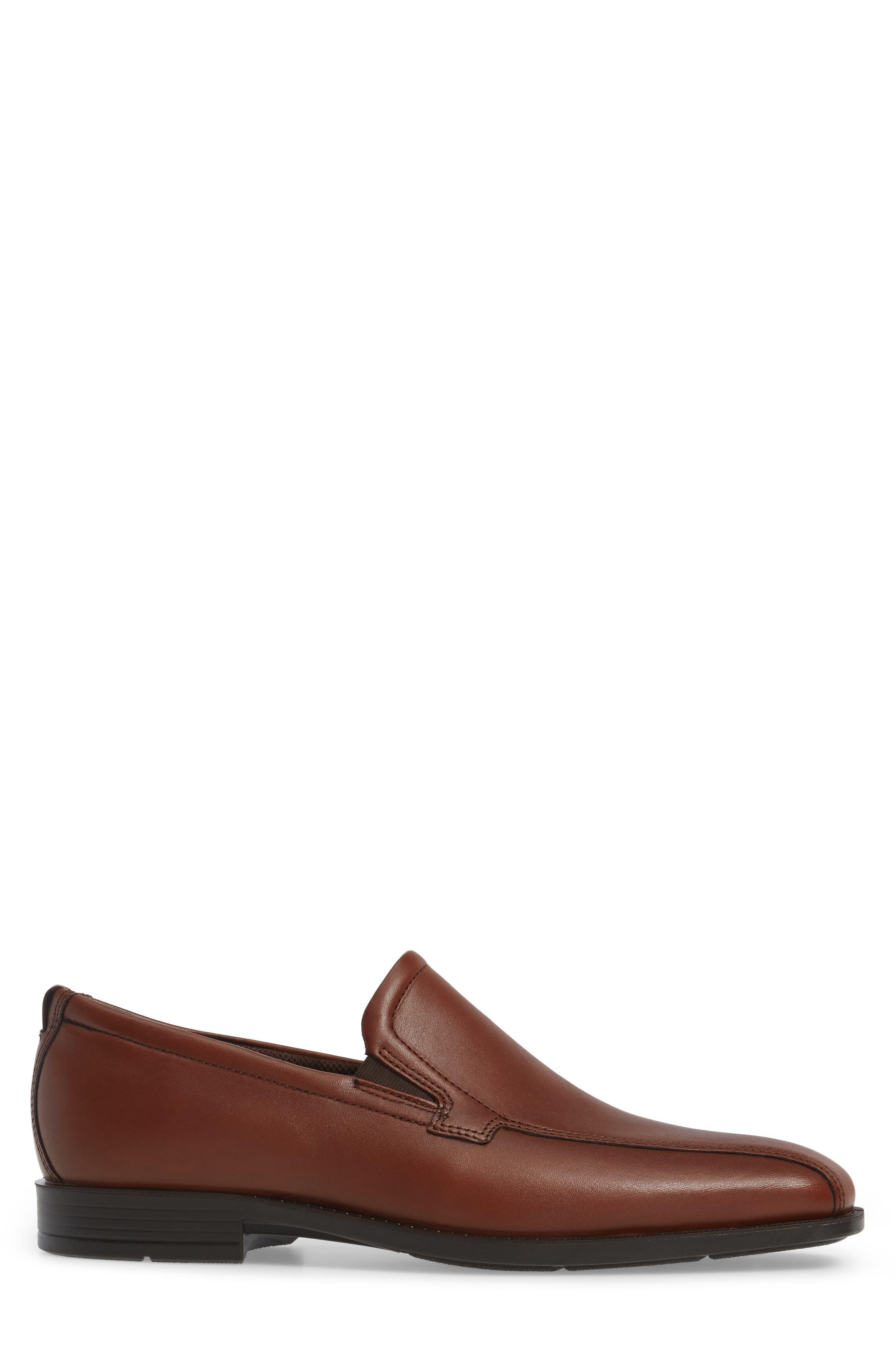 Edinburgh Venetian Loafer,                             Alternate thumbnail 3, color,                             Cognac Leather