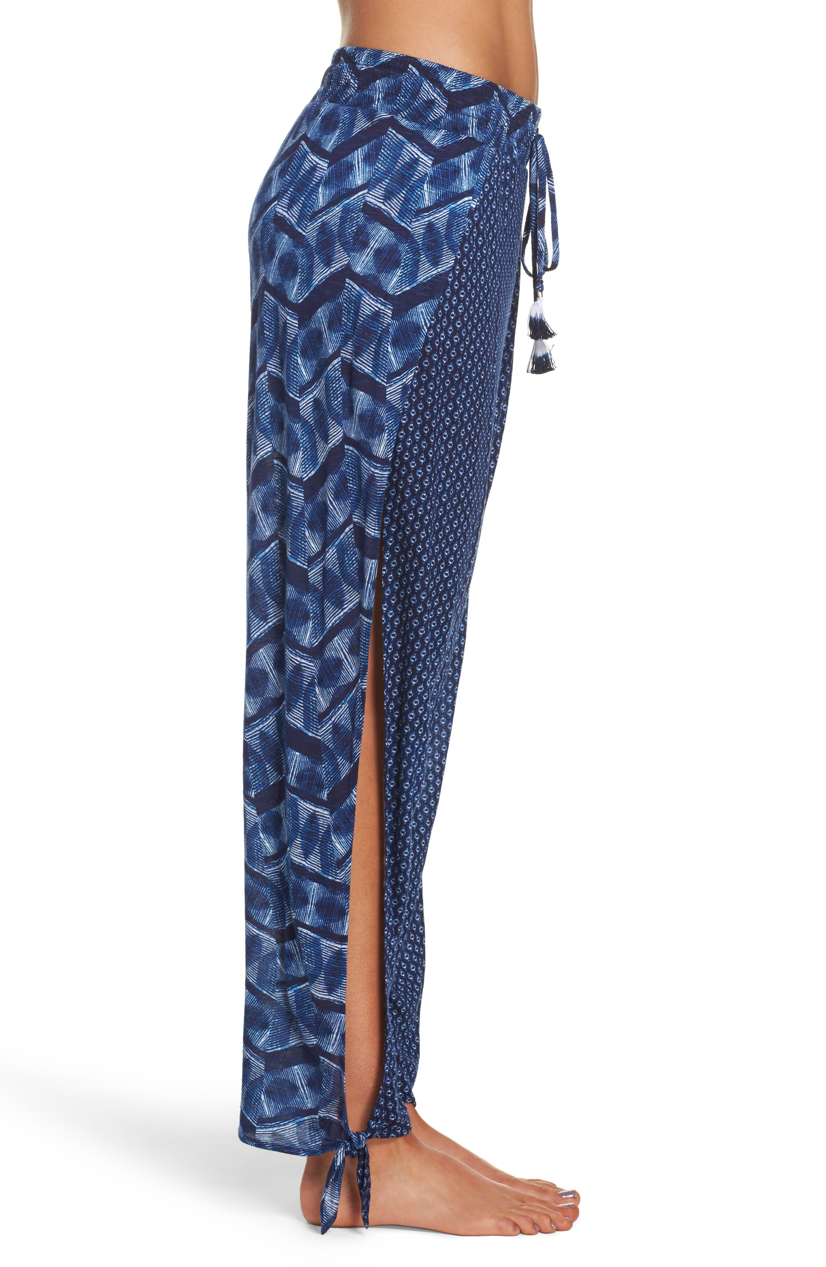 Alternate Image 3  - Lucky Brand Nomad Ankle Tie Cover-Up Pants