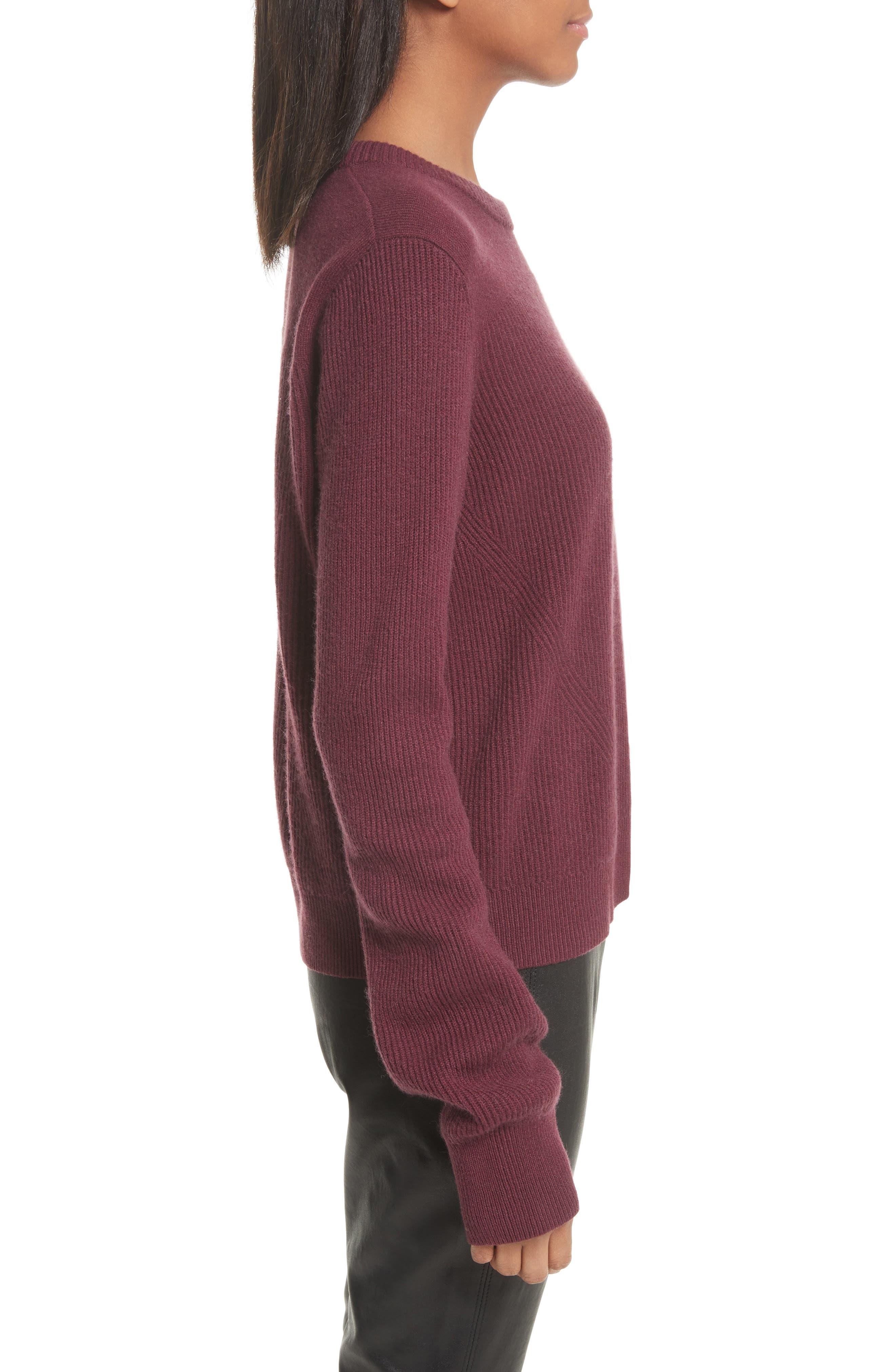 Alternate Image 3  - rag & bone Ace Cashmere Crop Sweater