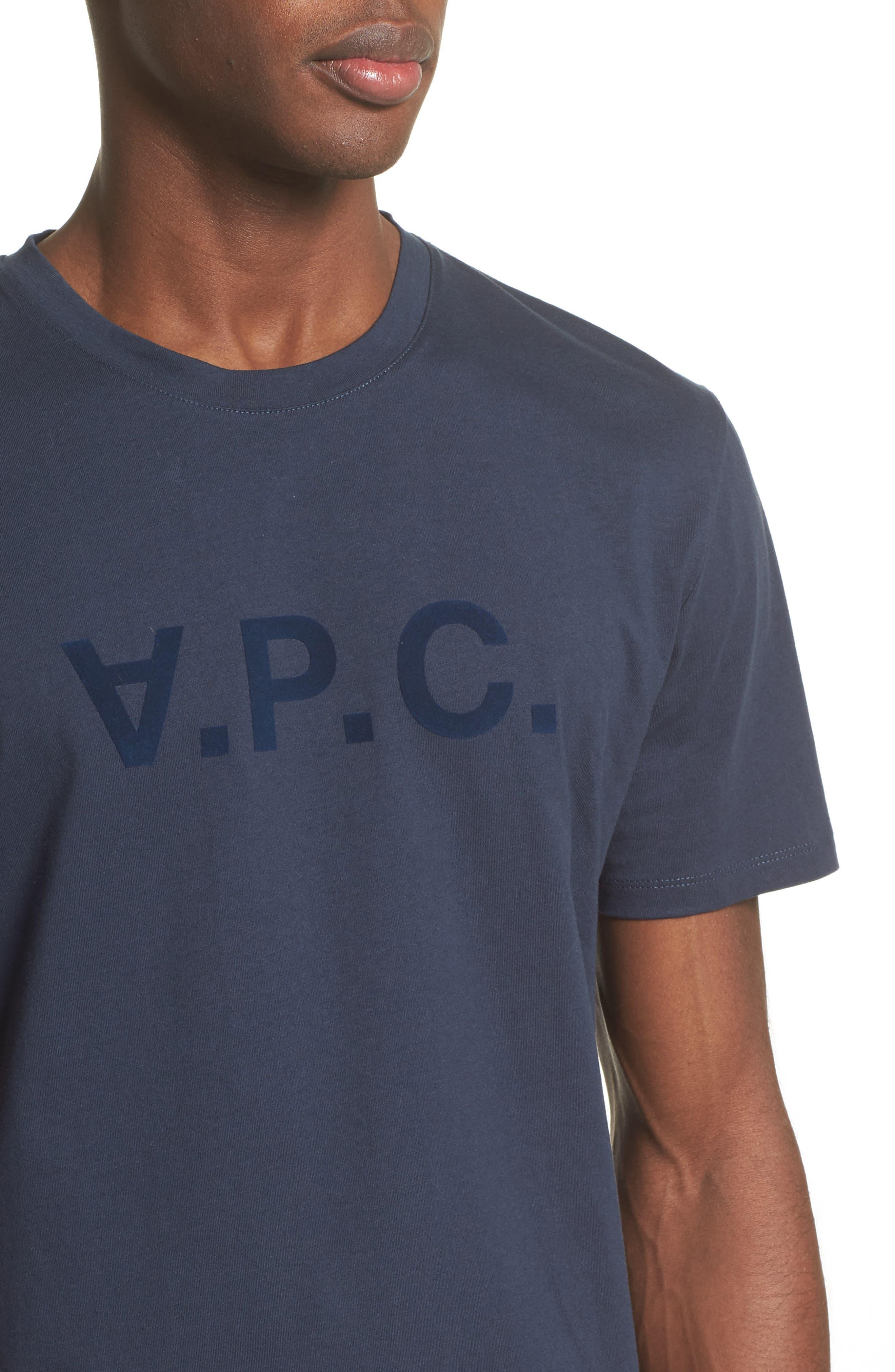 Logo T-Shirt,                             Alternate thumbnail 4, color,                             Dark Navy