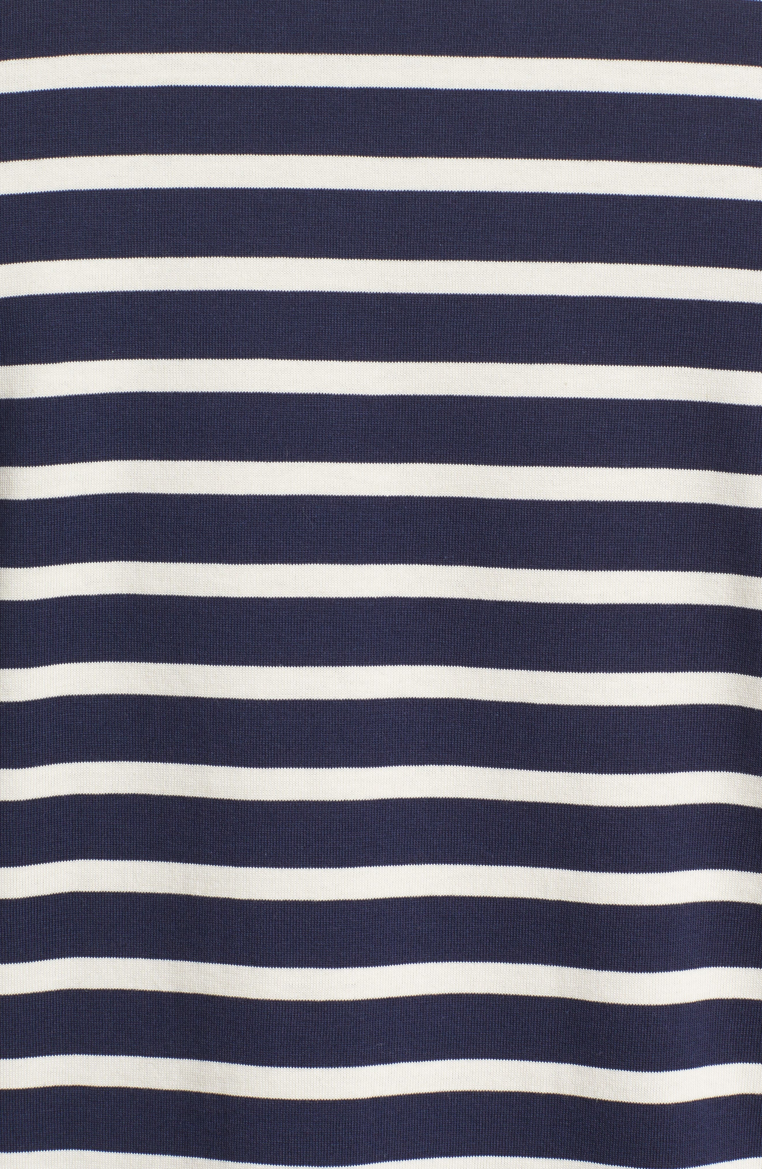 Alternate Image 5  - A.P.C. Stripe Pocket T-Shirt