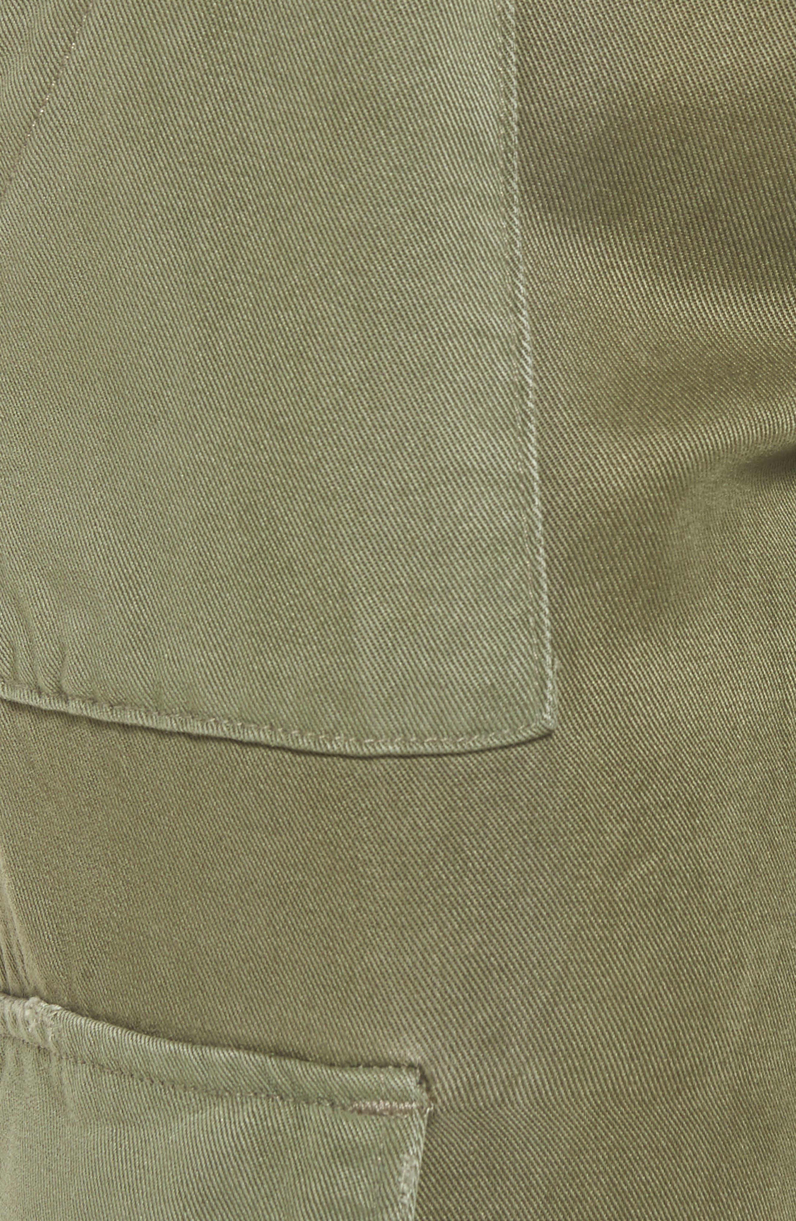 Riley Straight Leg Cargo Pants,                             Alternate thumbnail 5, color,                             Utility Remix
