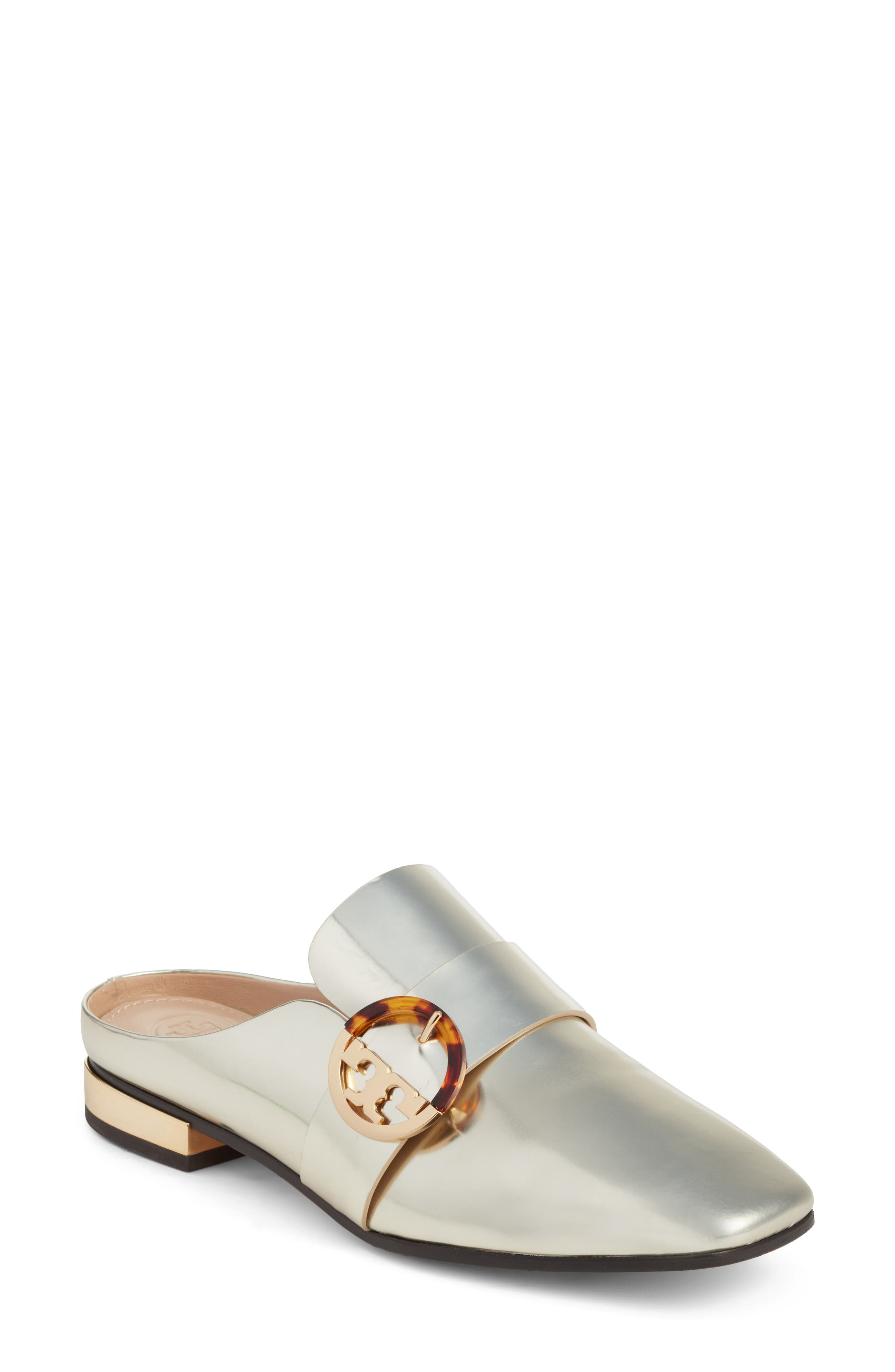 Alternate Image 1 Selected - Tory Burch Sidney Backless Loafer (Women)