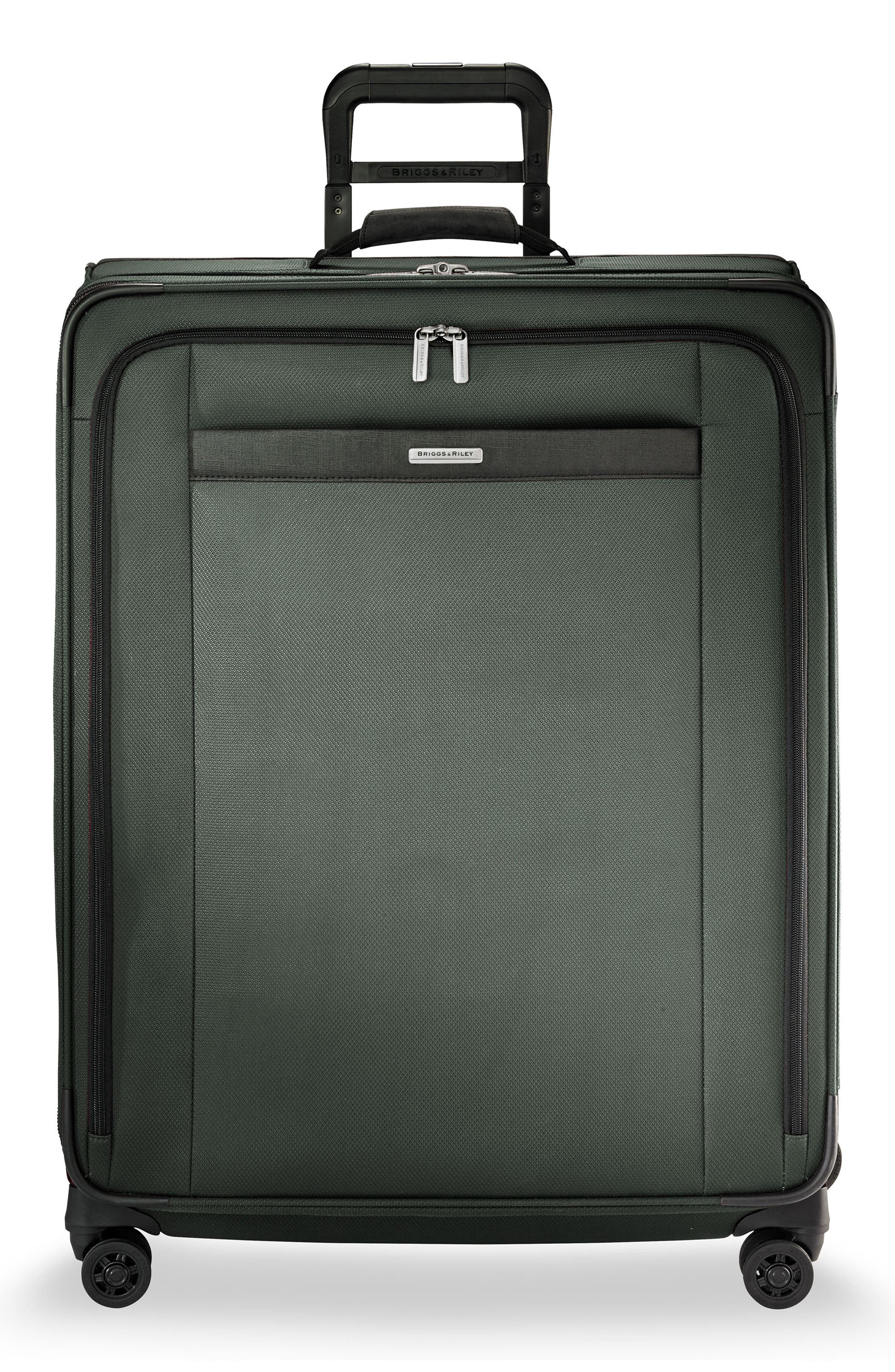 Transcend VX Large Expandable 29-Inch Spinner Suitcase,                             Main thumbnail 1, color,                             Rainforest Green
