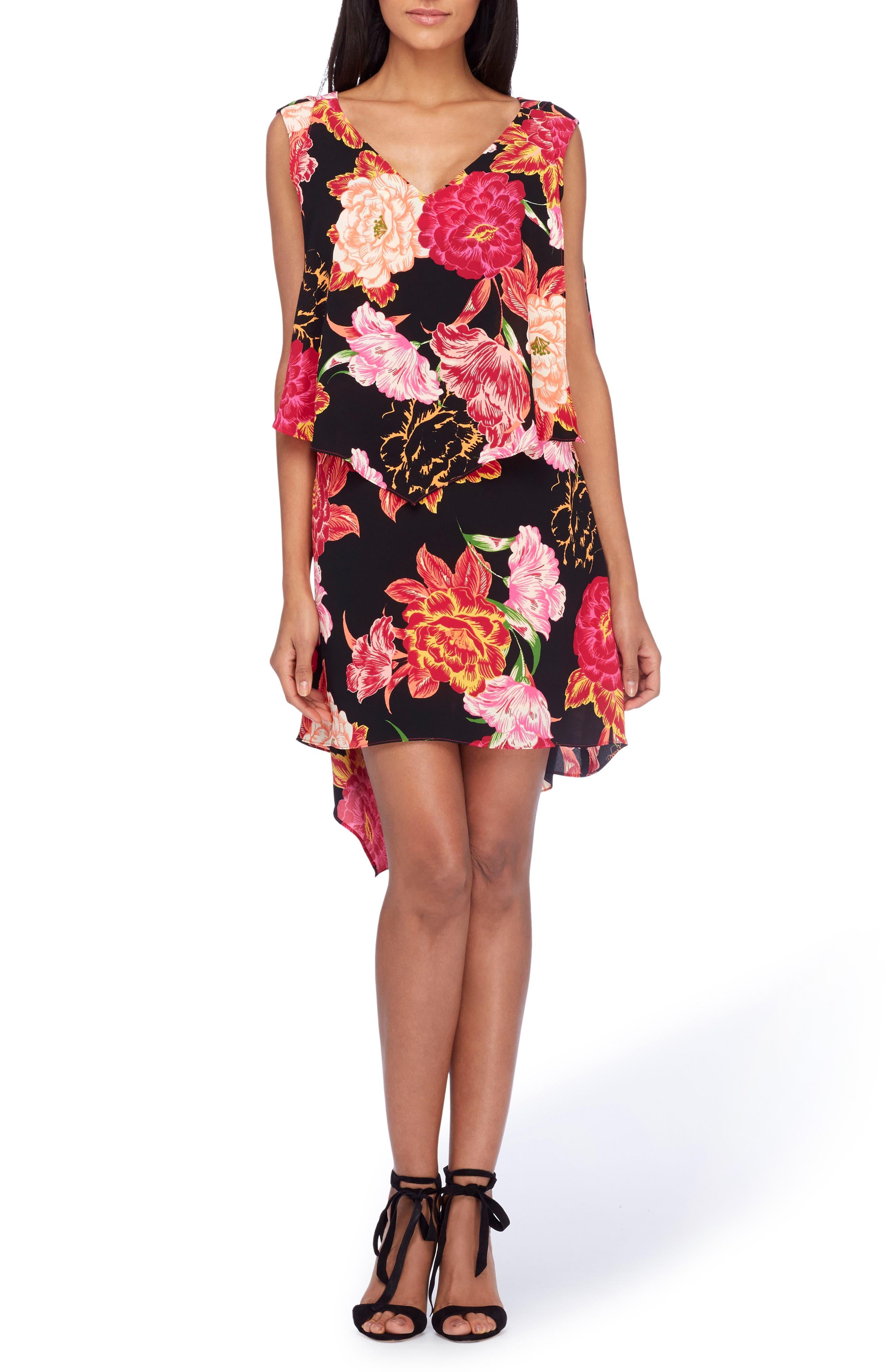 Tahari Flyaway Dress (Regular & Petite)