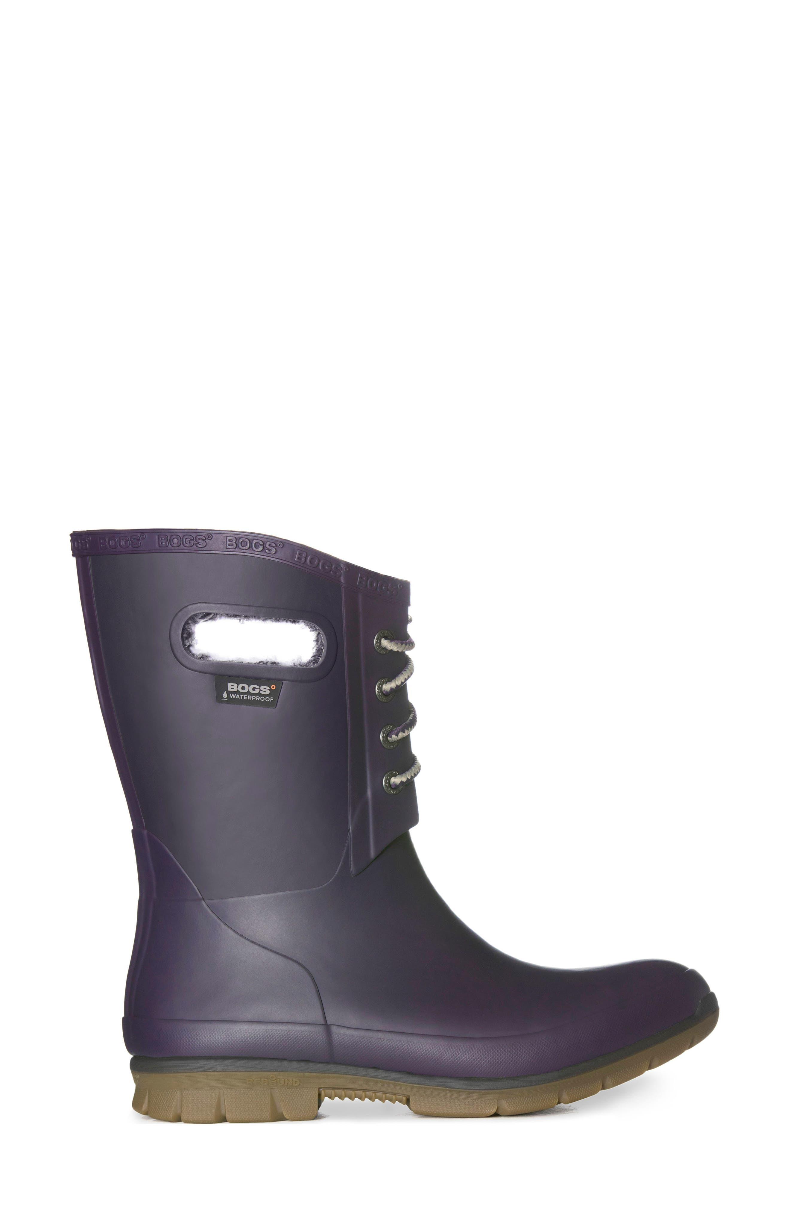 Alternate Image 3  - Bogs Amanda Plush Waterproof Rain Boot (Women)