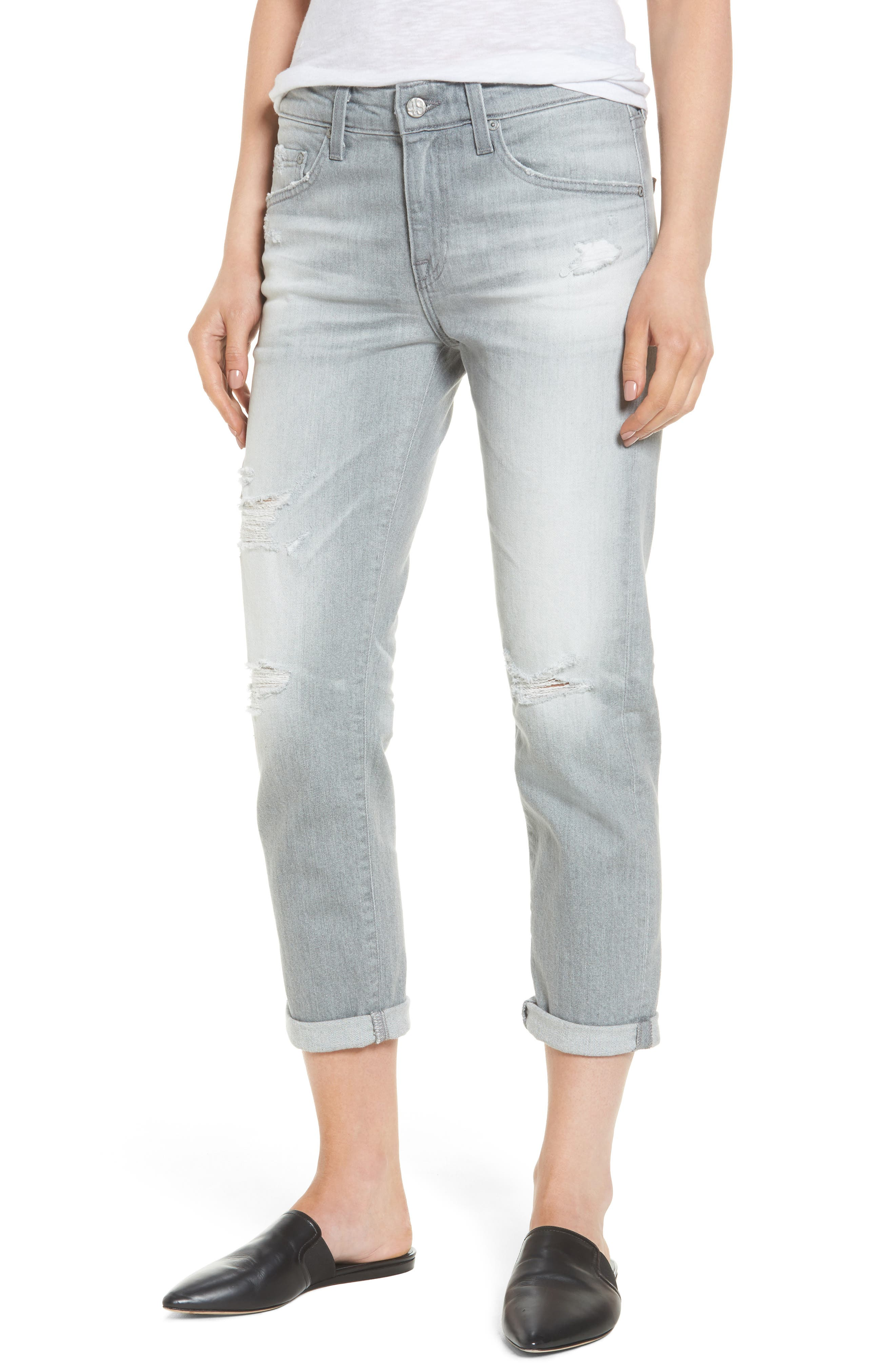 Ex-Boyfriend Slim Jeans,                             Main thumbnail 1, color,                             9 Years Cadence