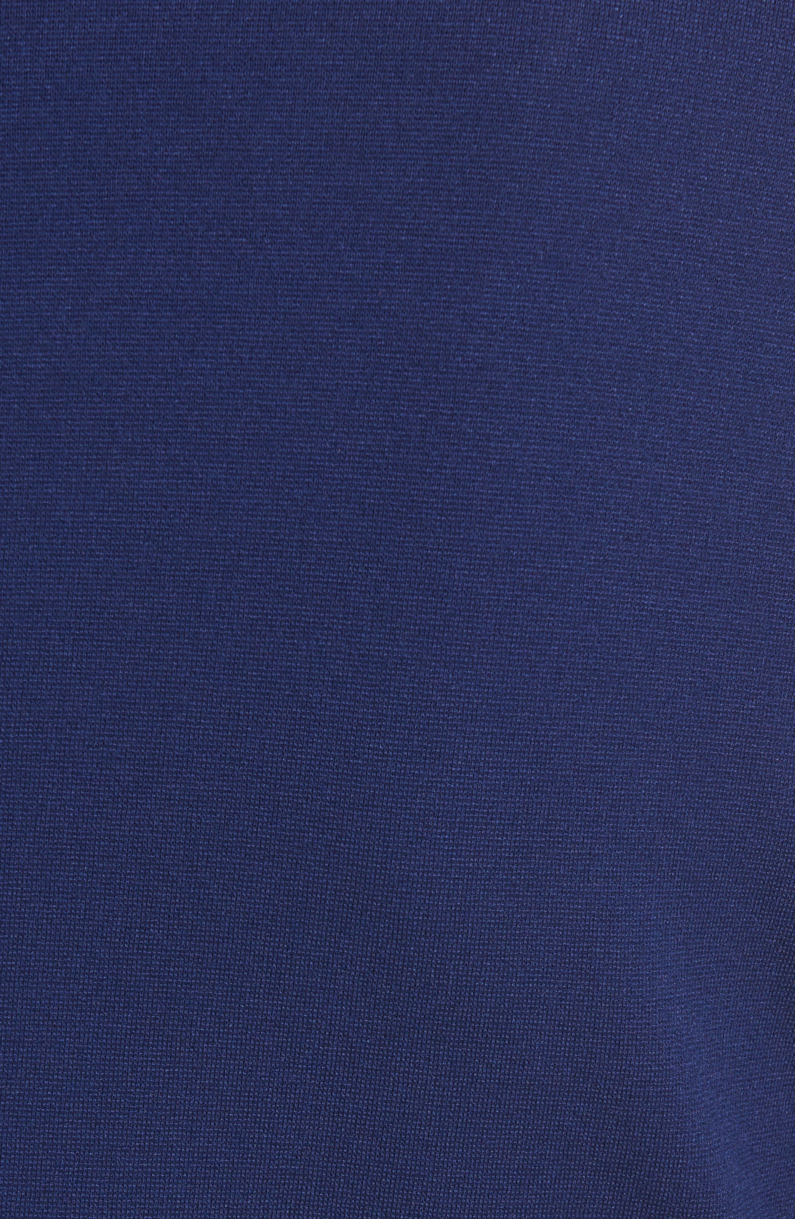 Alternate Image 3  - Armani Collezioni Side Gather Milano Jersey Dress