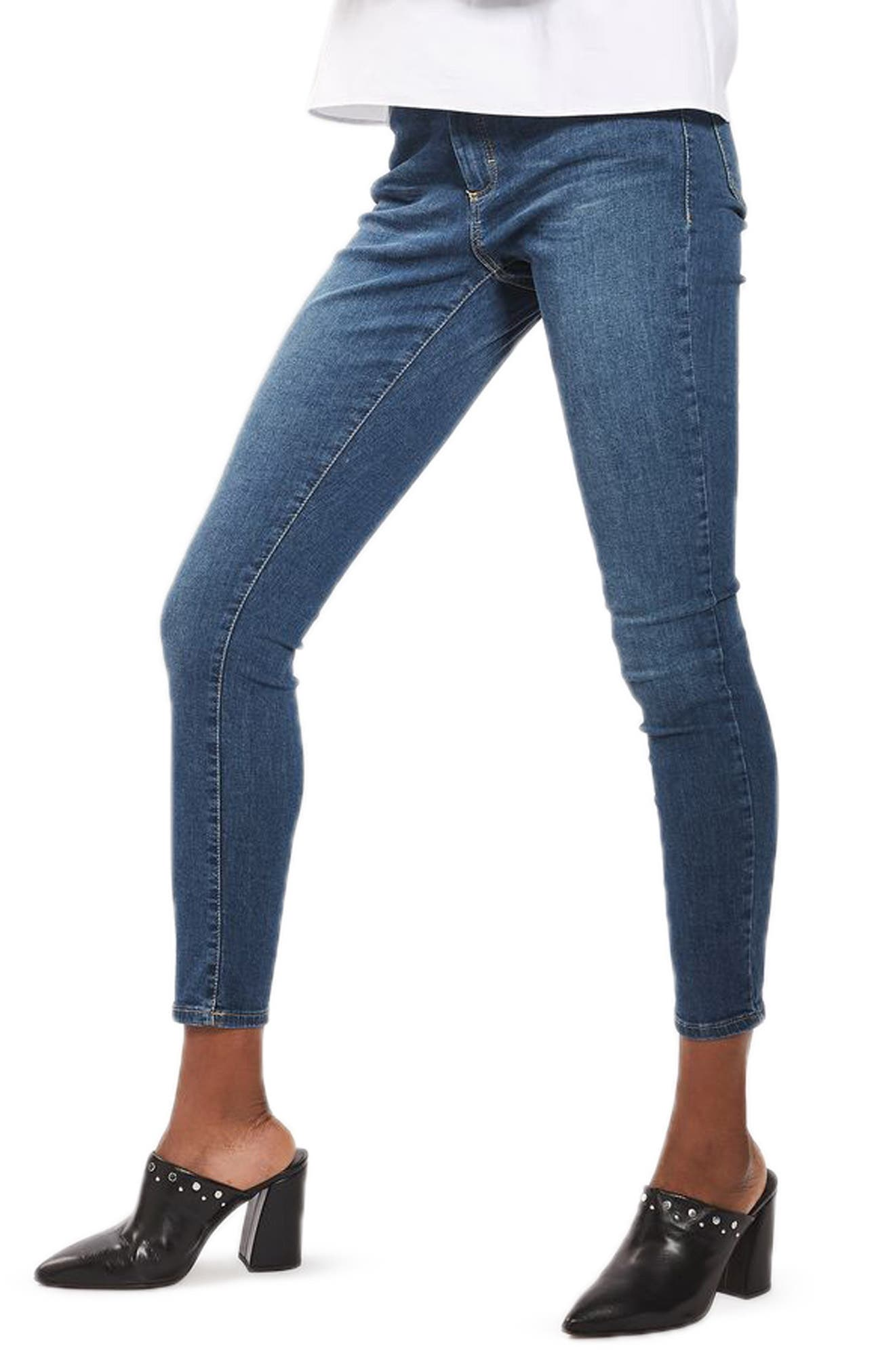 Alternate Image 3  - Topshop Leigh Skinny Jeans