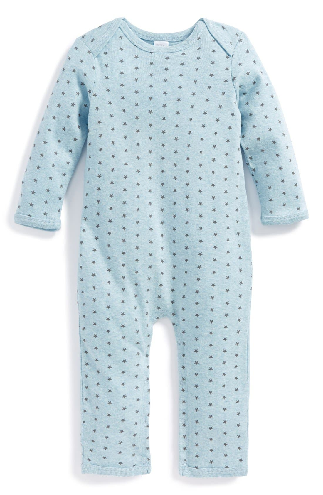 Main Image - Nordstrom Baby Print Romper (Baby)