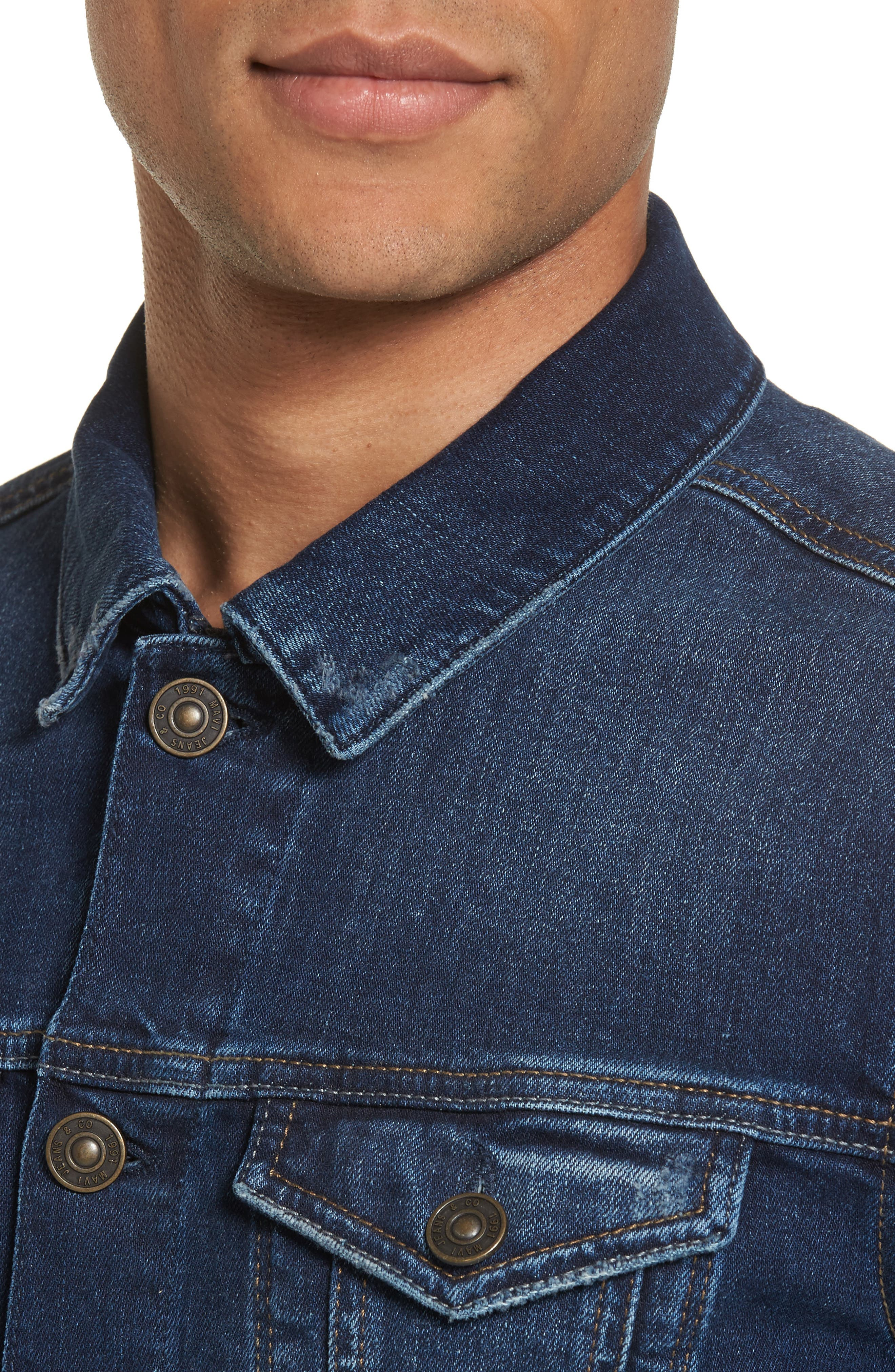 Alternate Image 4  - Mavi Jeans Frank Denim Jacket