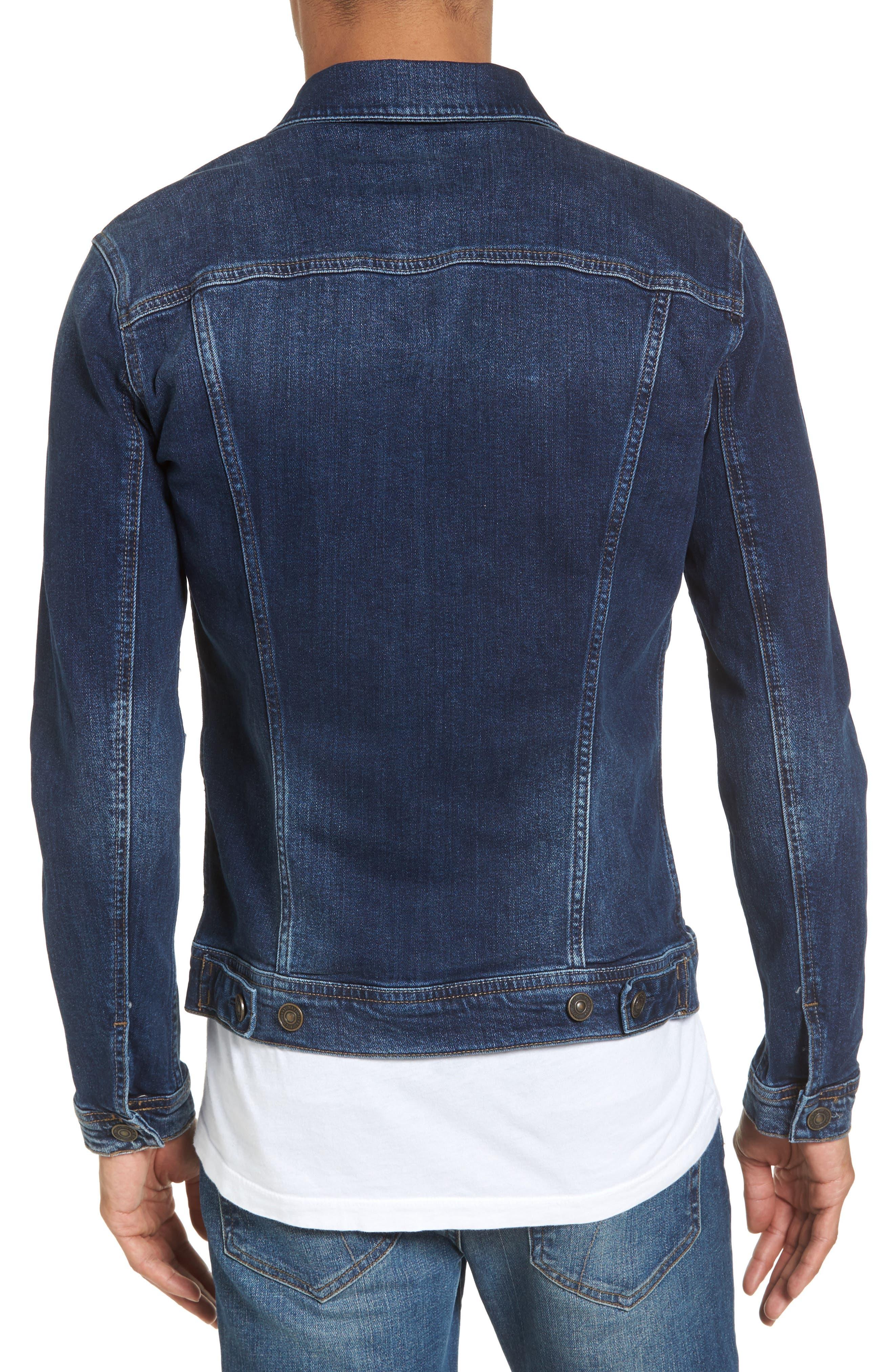 Alternate Image 2  - Mavi Jeans Frank Denim Jacket
