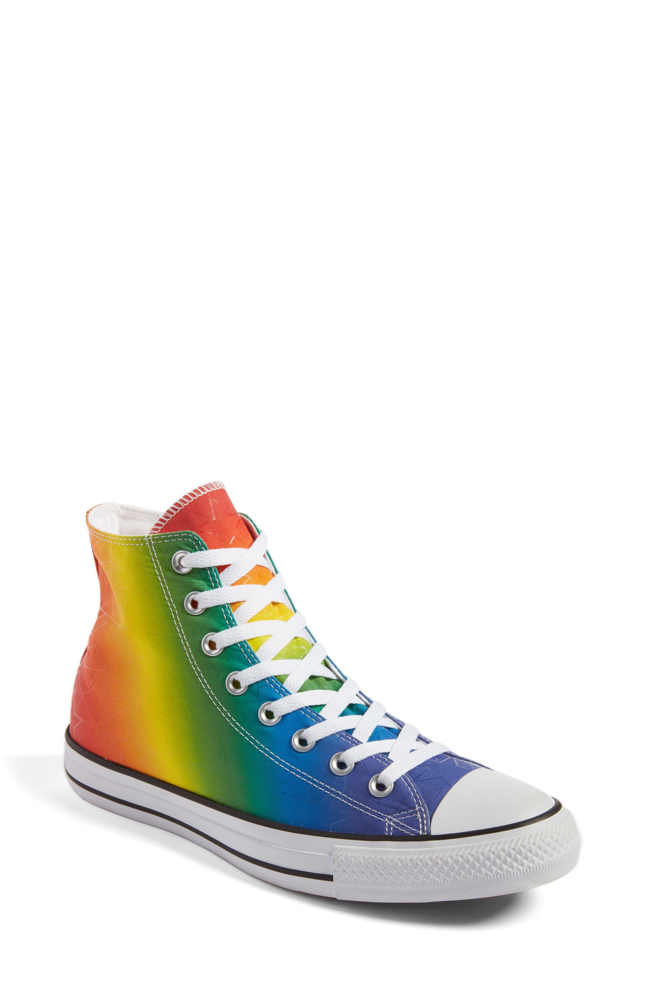 Main Image - Converse Chuck Taylor® All Star® Pride High Top Sneaker (Women)