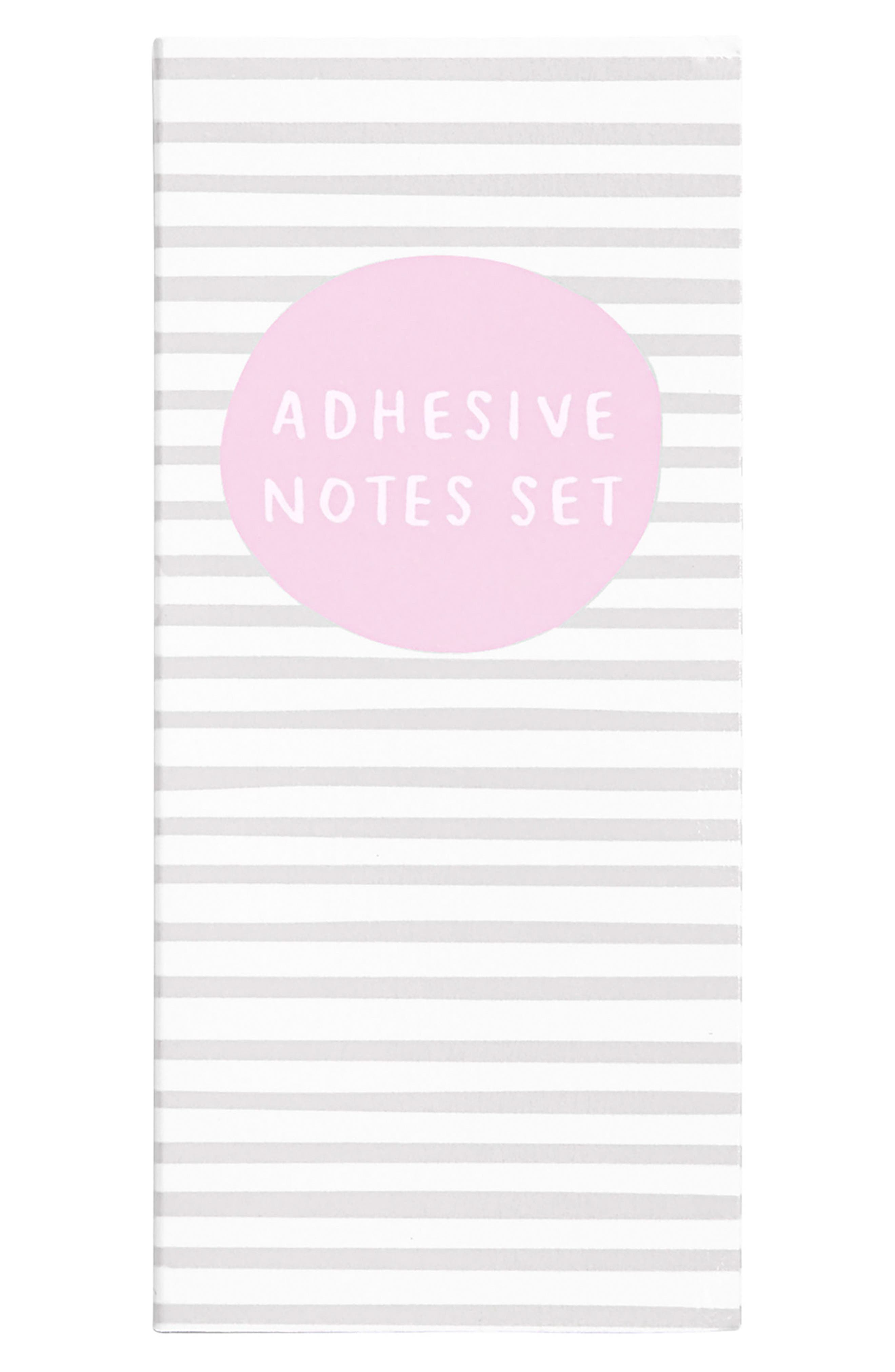 Sticky Note Set,                         Main,                         color, Grey