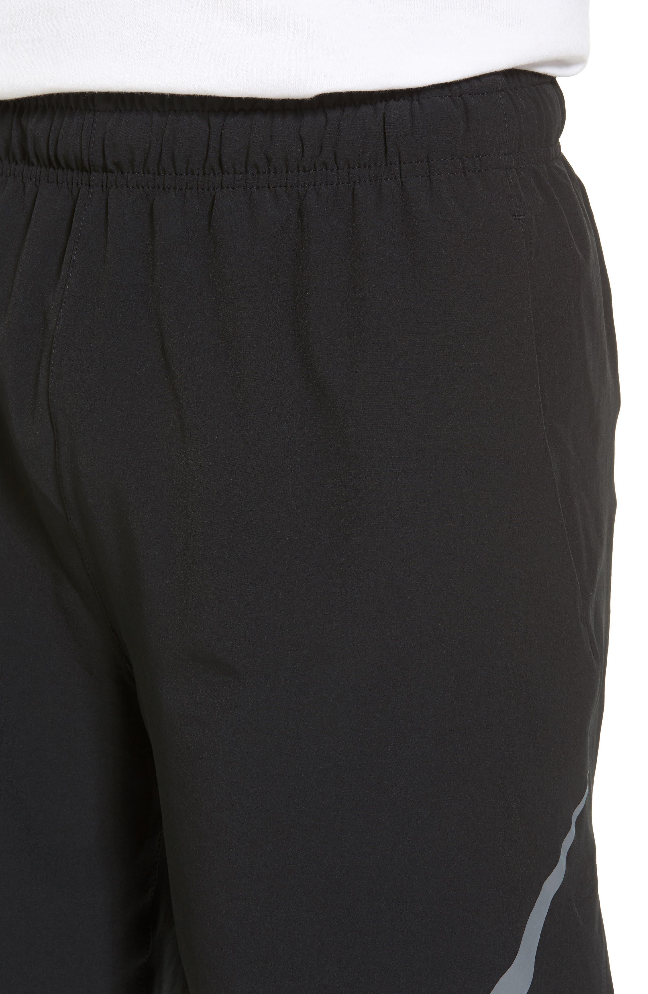 Flex Training Shorts,                             Alternate thumbnail 4, color,                             Black/ Cool Grey