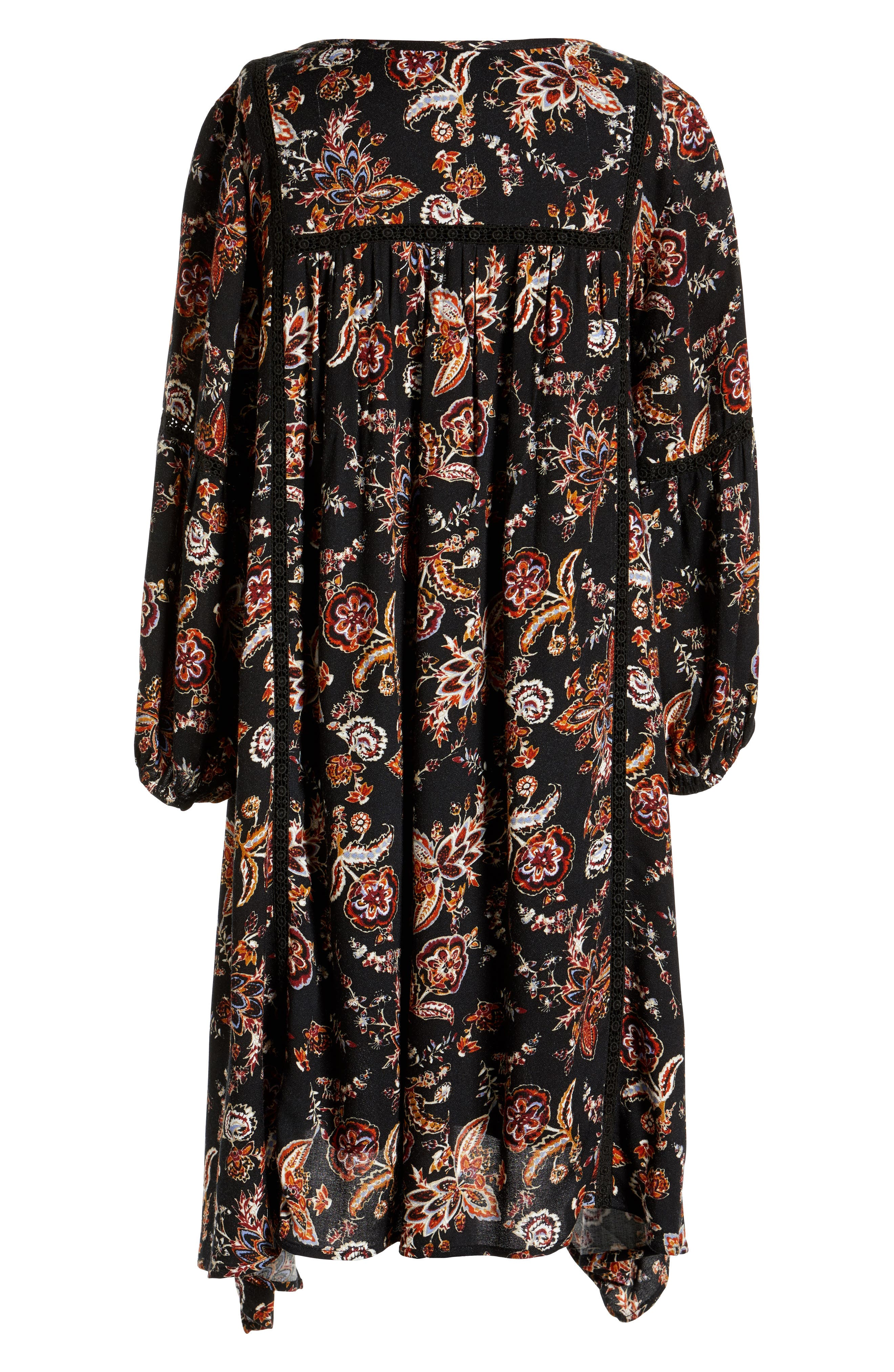 Alternate Image 2  - For All Seasons Floral Print Dress (Big Girls)
