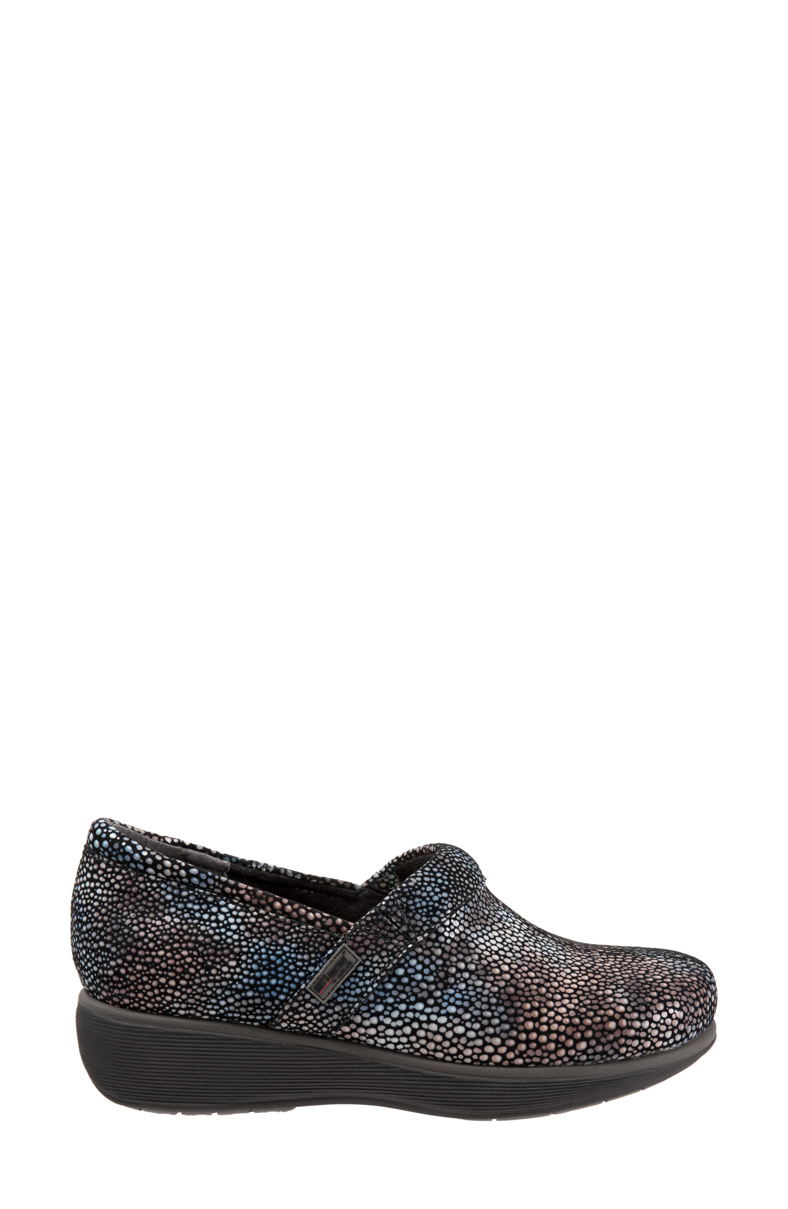 Grey's Anatomy<sup>®</sup> by Softwalk<sup>®</sup> 'Meredith' Leather Clog,                             Alternate thumbnail 3, color,                             Multi Mosaic Leather