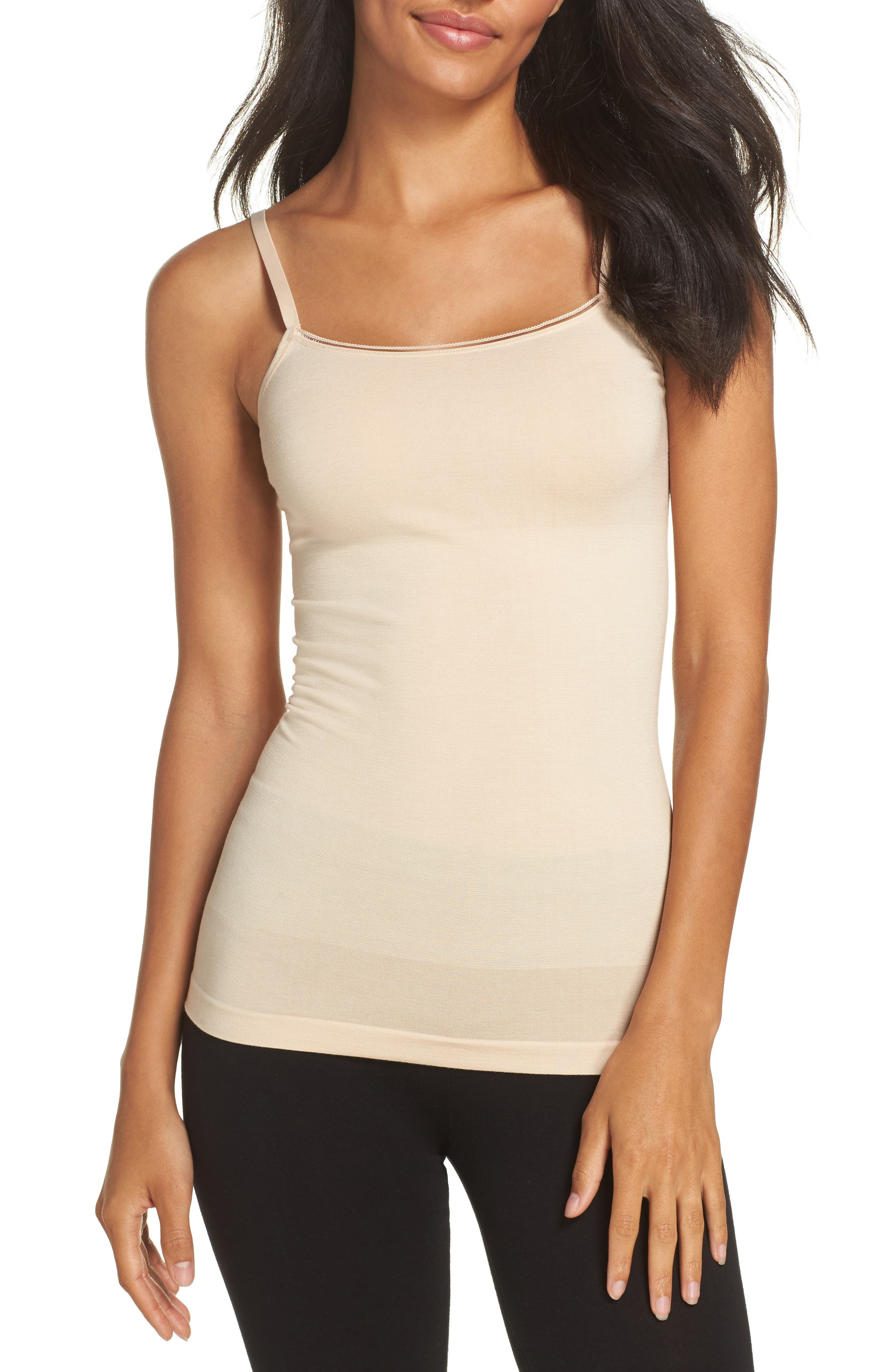 Seamlessly Shaped Convertible Camisole,                         Main,                         color, Frappe