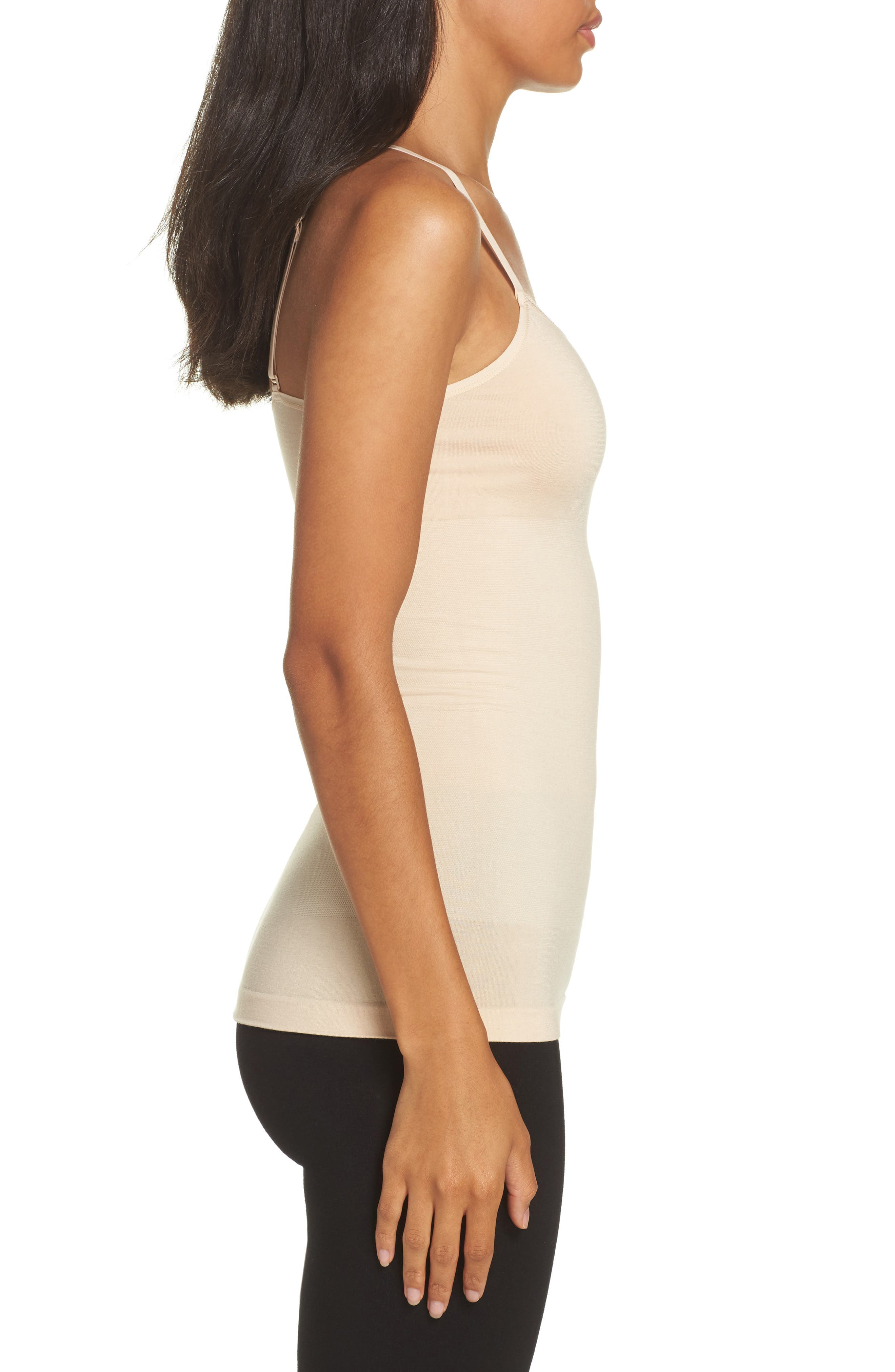 Seamlessly Shaped Convertible Camisole,                             Alternate thumbnail 3, color,                             Frappe