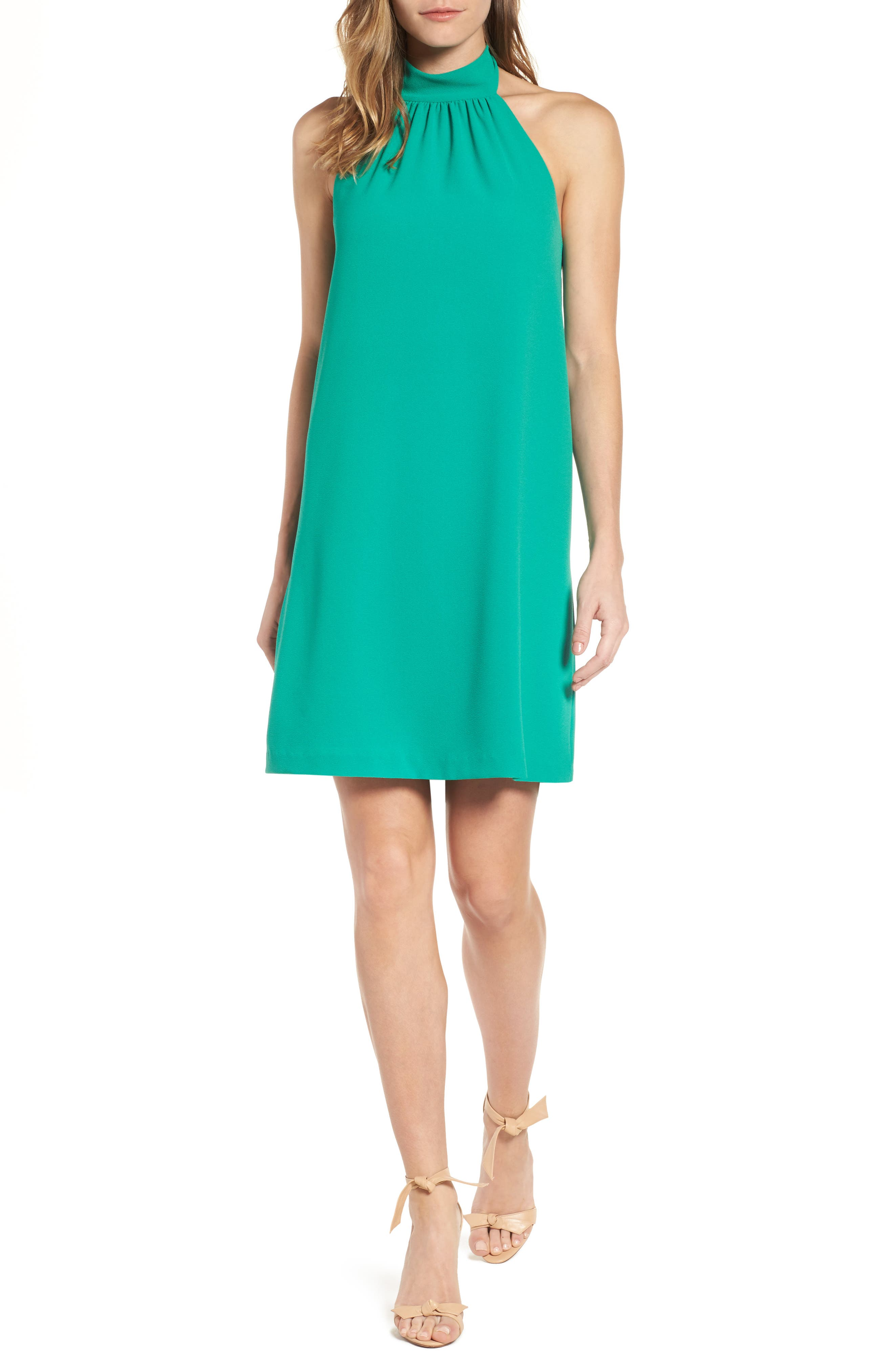 Felicity & Coco Halter Shift Dress (Regular & Petite) (Nordstrom Exclusive)