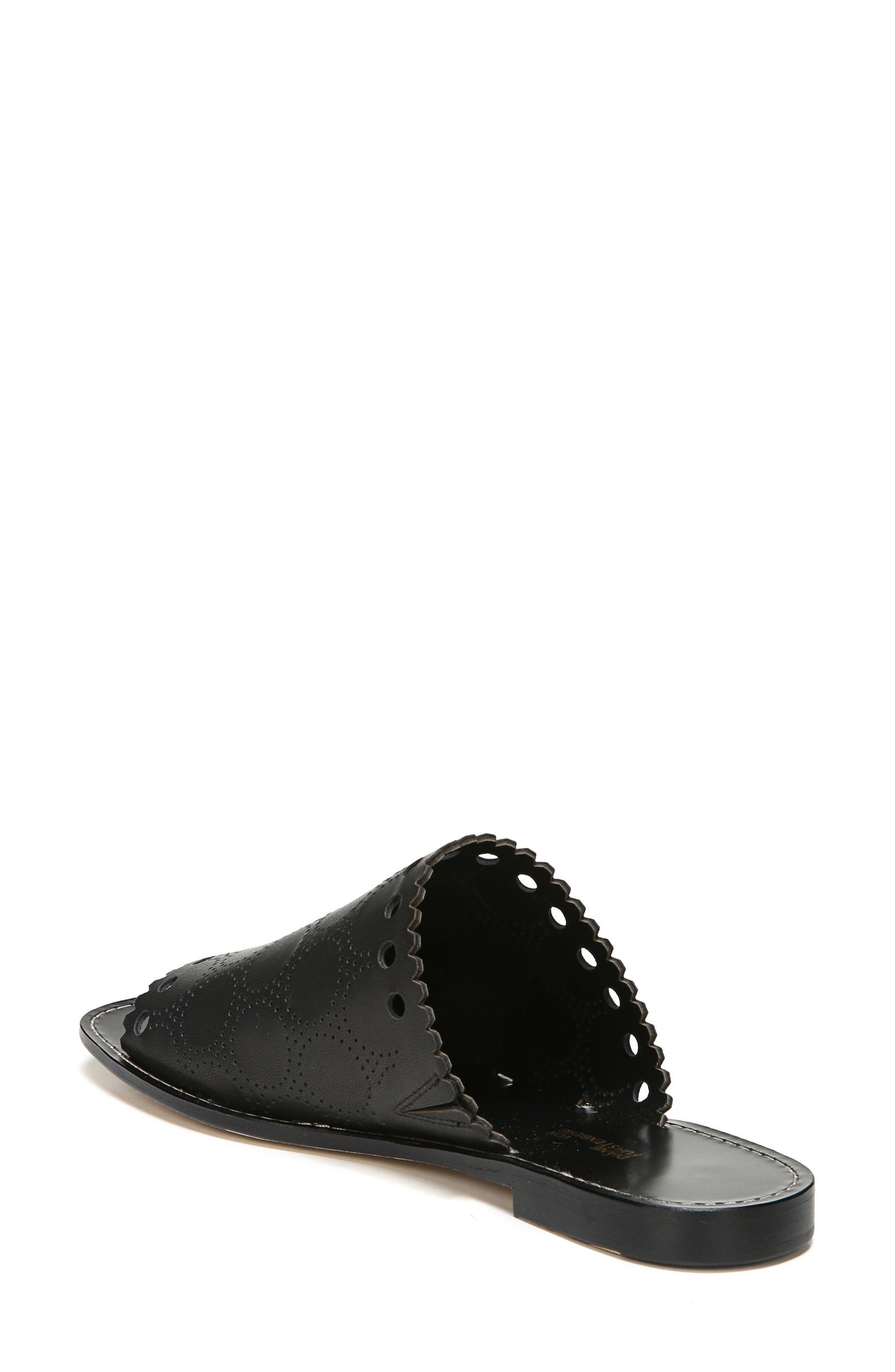 Estevan Slide Sandal,                             Alternate thumbnail 2, color,                             Black