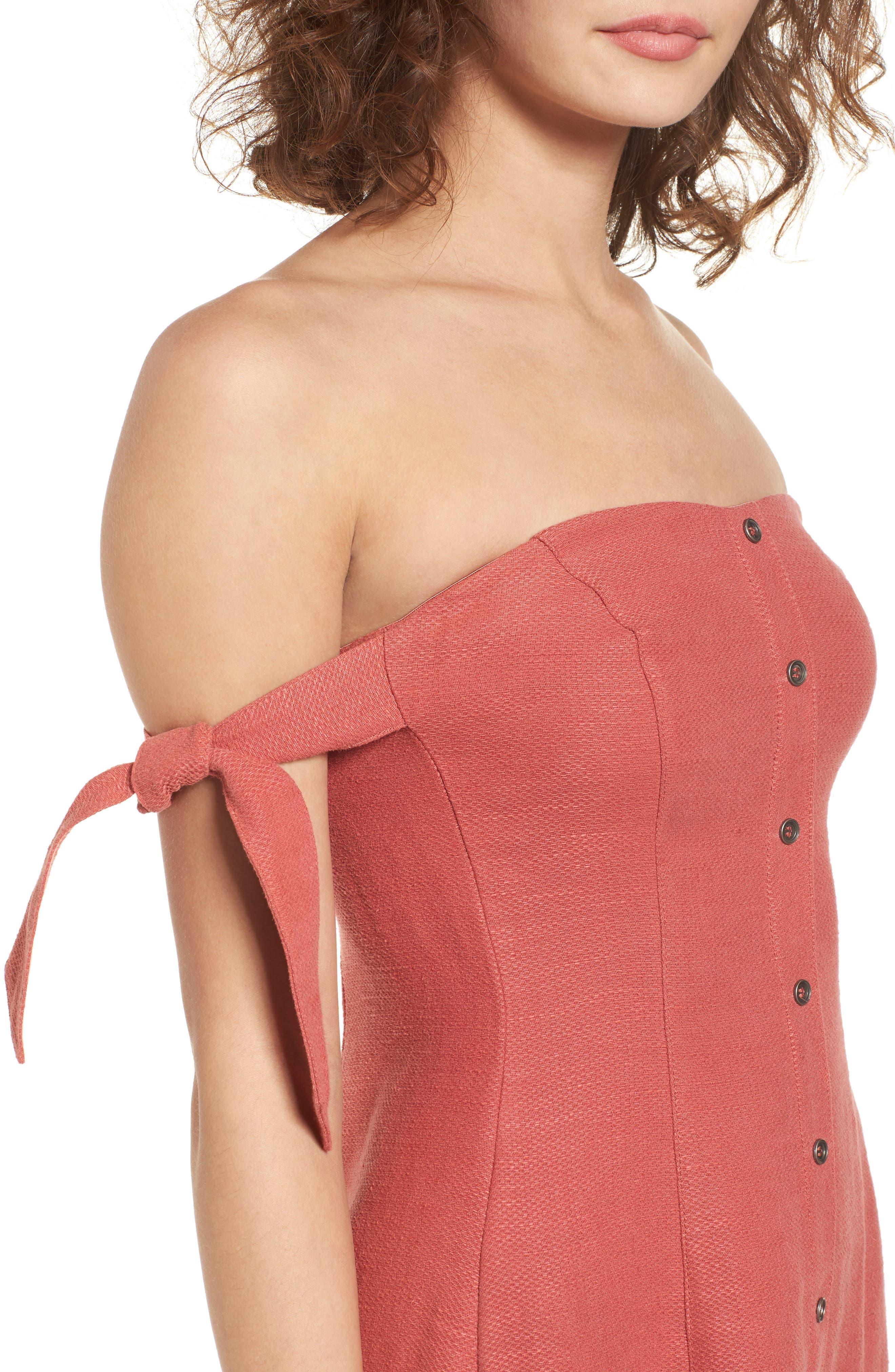 Alternate Image 4  - ASTR the Label Araceli Minidress