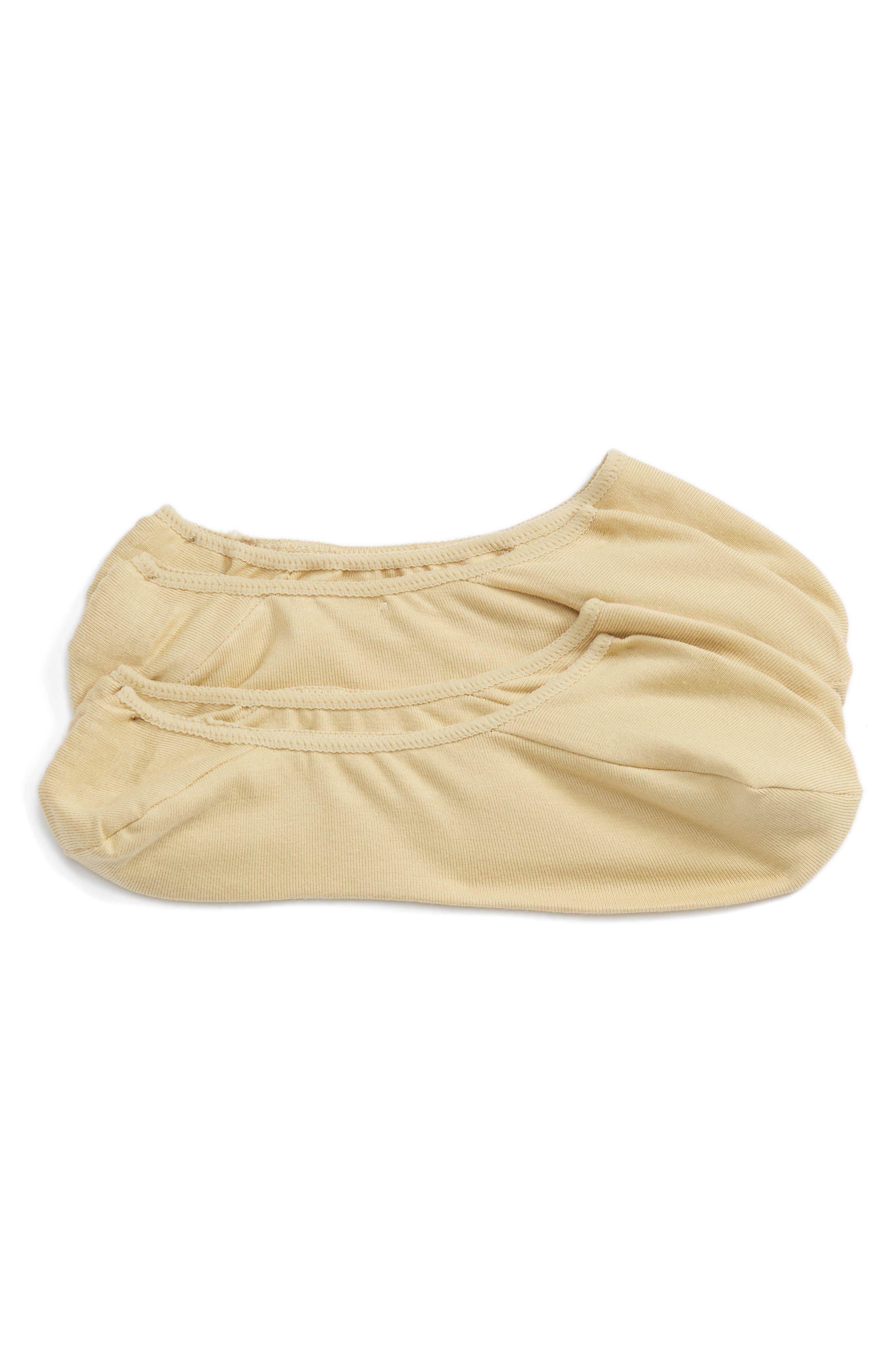 Nordstrom Men's Shop 2-Pack Dress Liner Socks