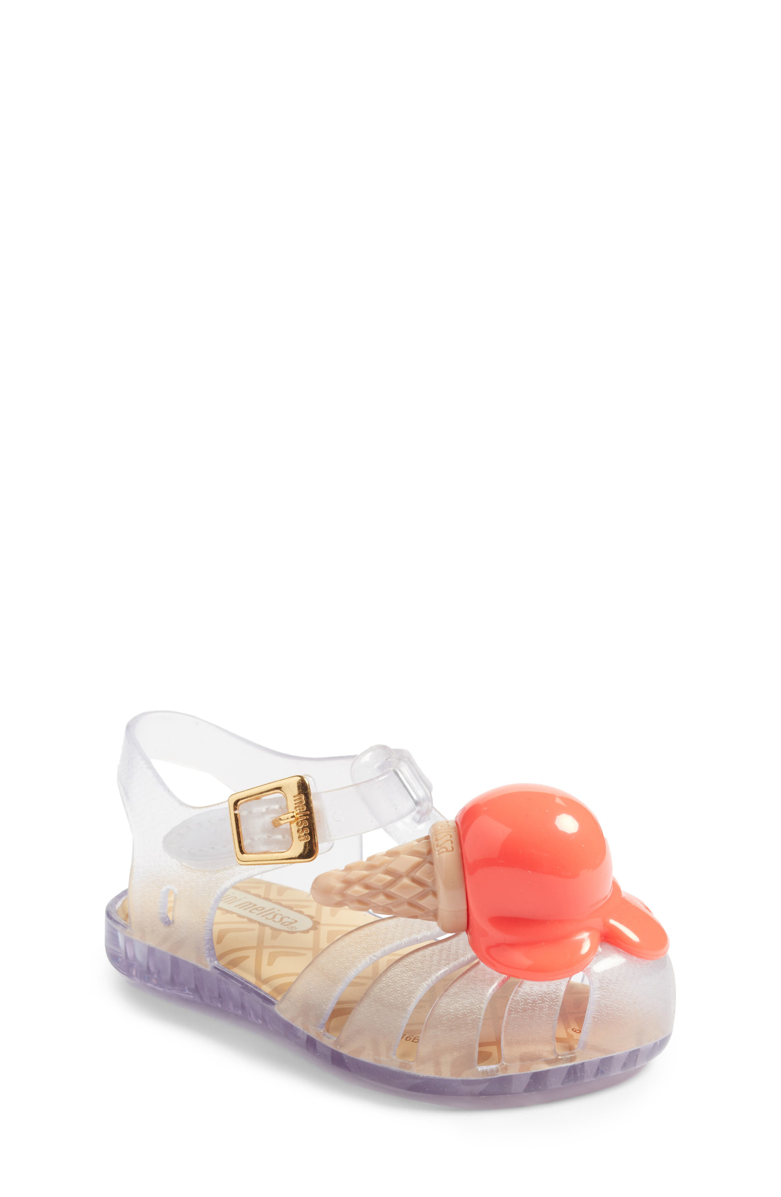 Mini Melissa Aranha X Sandal (Walker & Toddler)