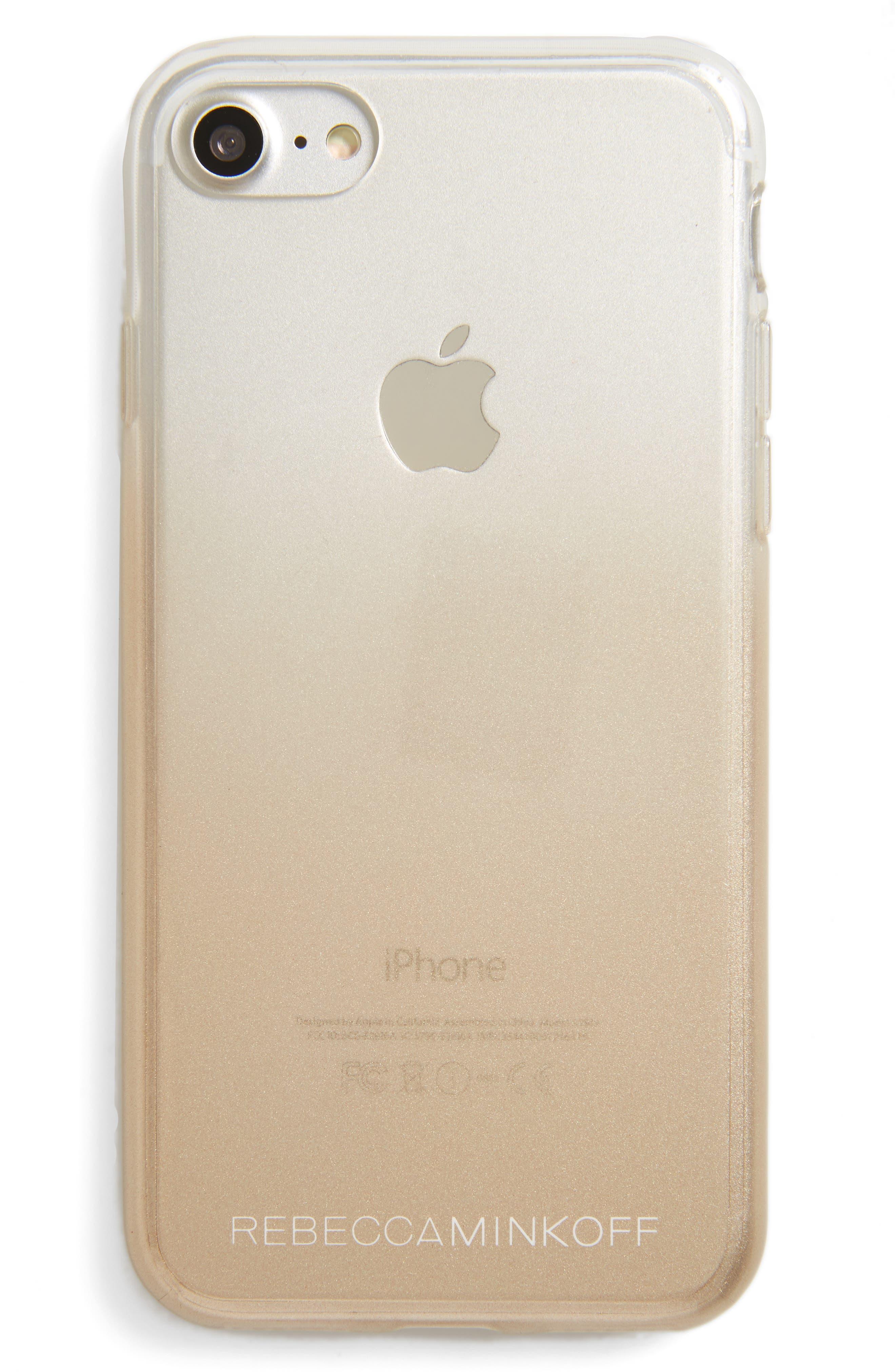 REBECCA MINKOFF Metal Ombré iPhone 7 Case