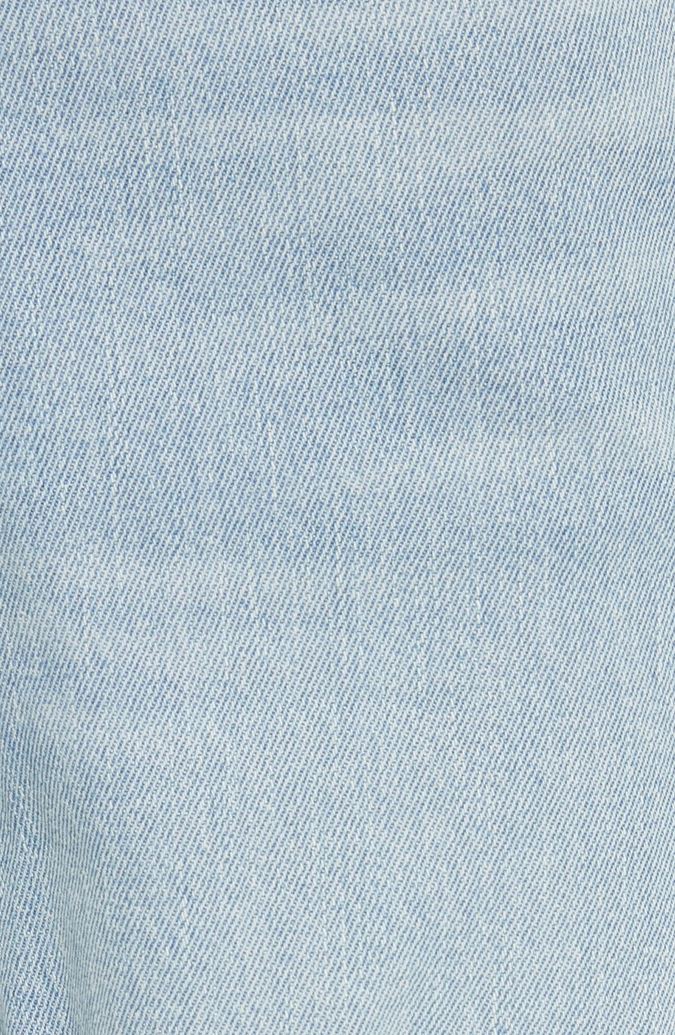 Alternate Image 6  - FRAME Le Original Raw Edge High Waist Jeans (Harrah)