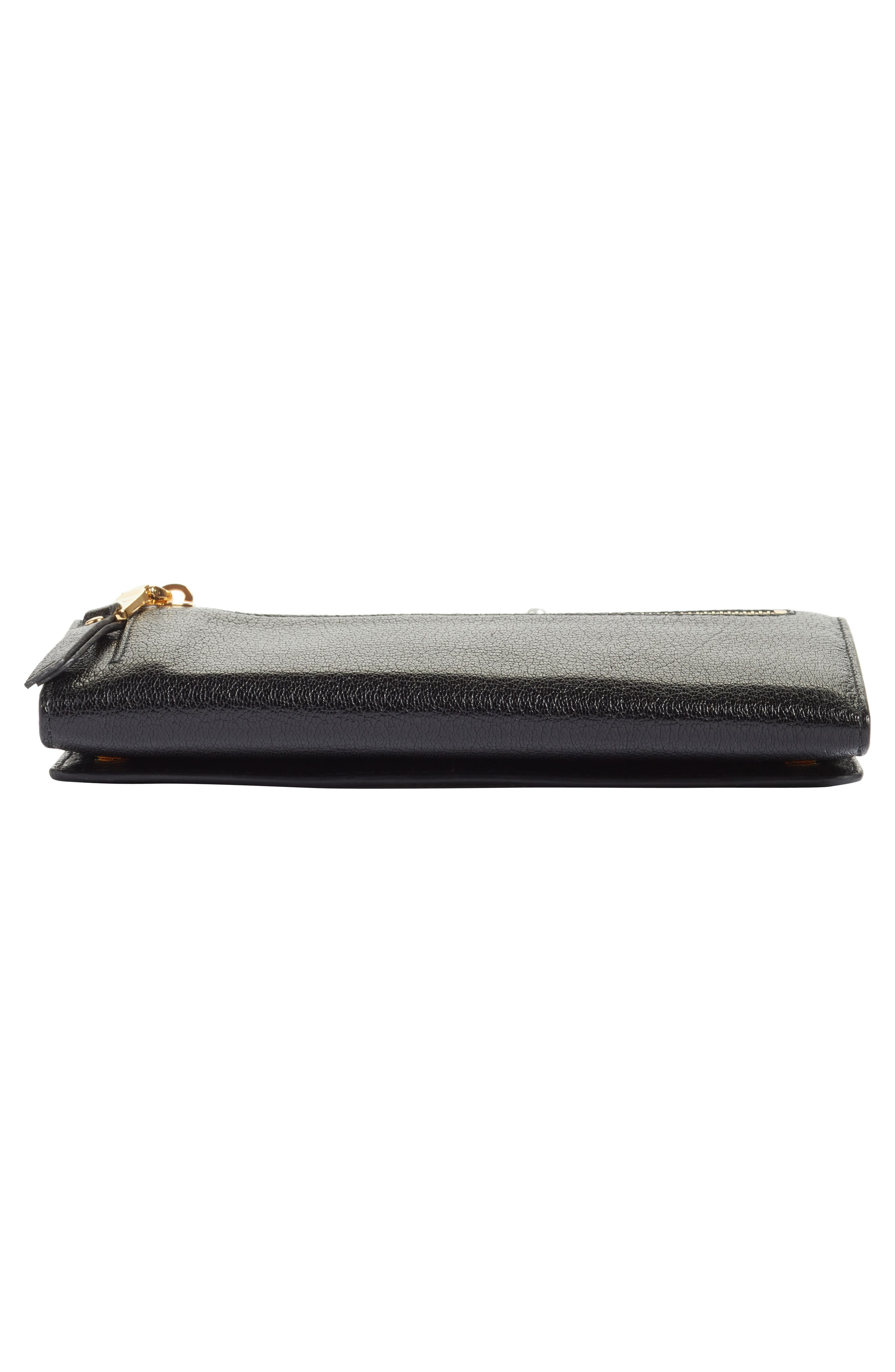 Alternate Image 6  - Miu Miu Madras Leather Continental Wallet