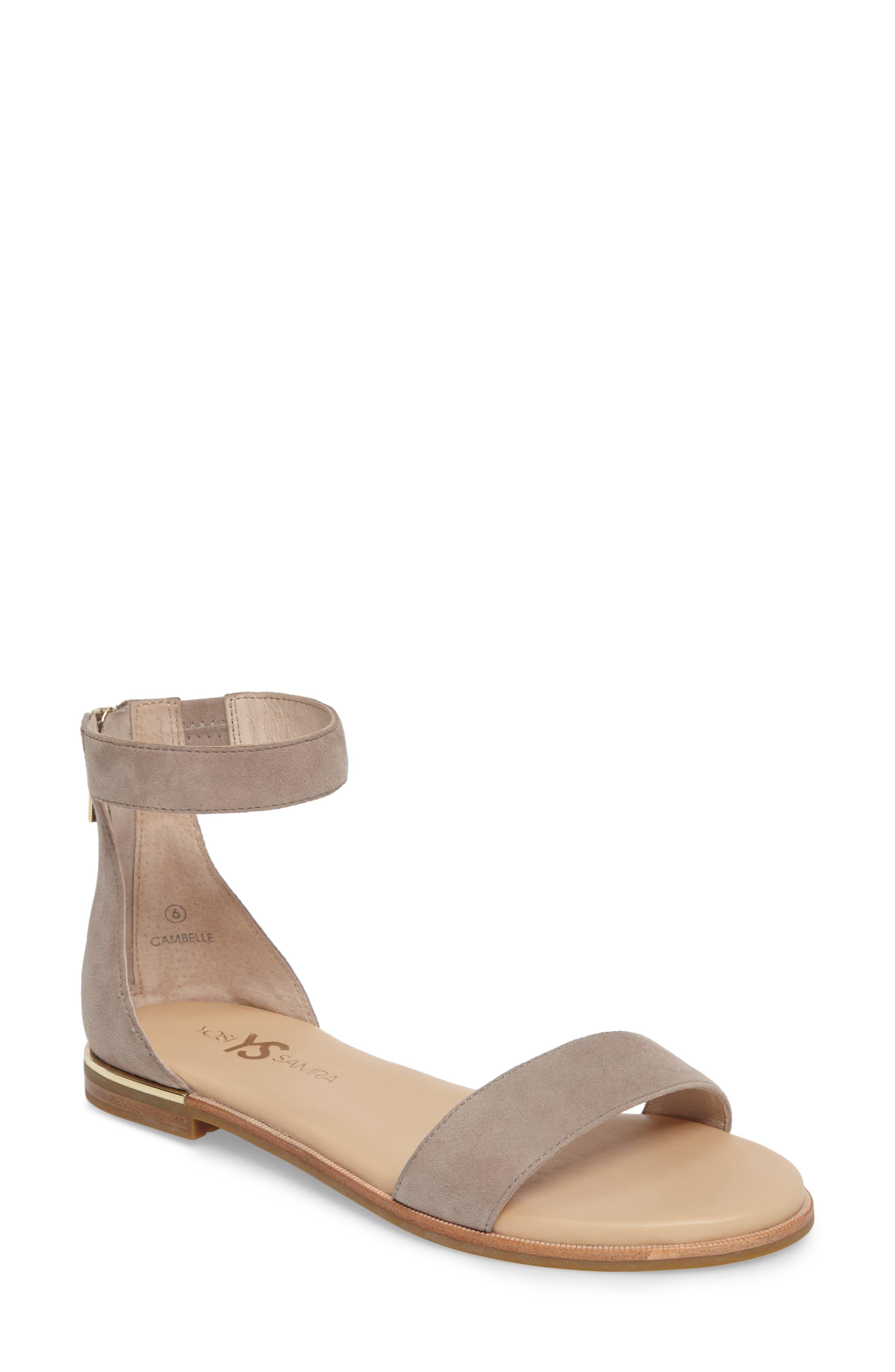 Alternate Image 1 Selected - Yosi Samra 'Cambelle' Ankle Strap Sandal