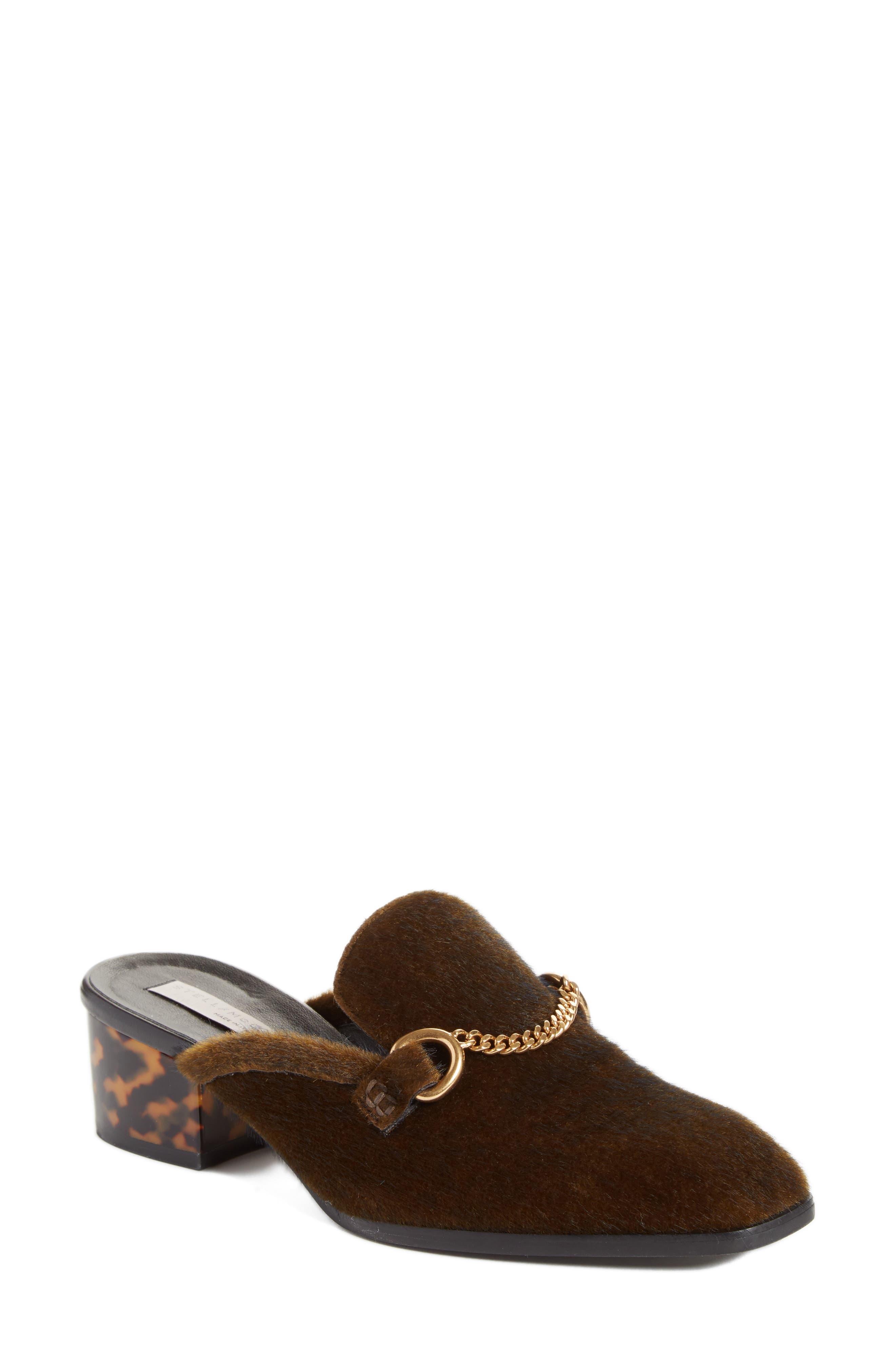 Stella McCartney Chain Loafer Mule (Women)