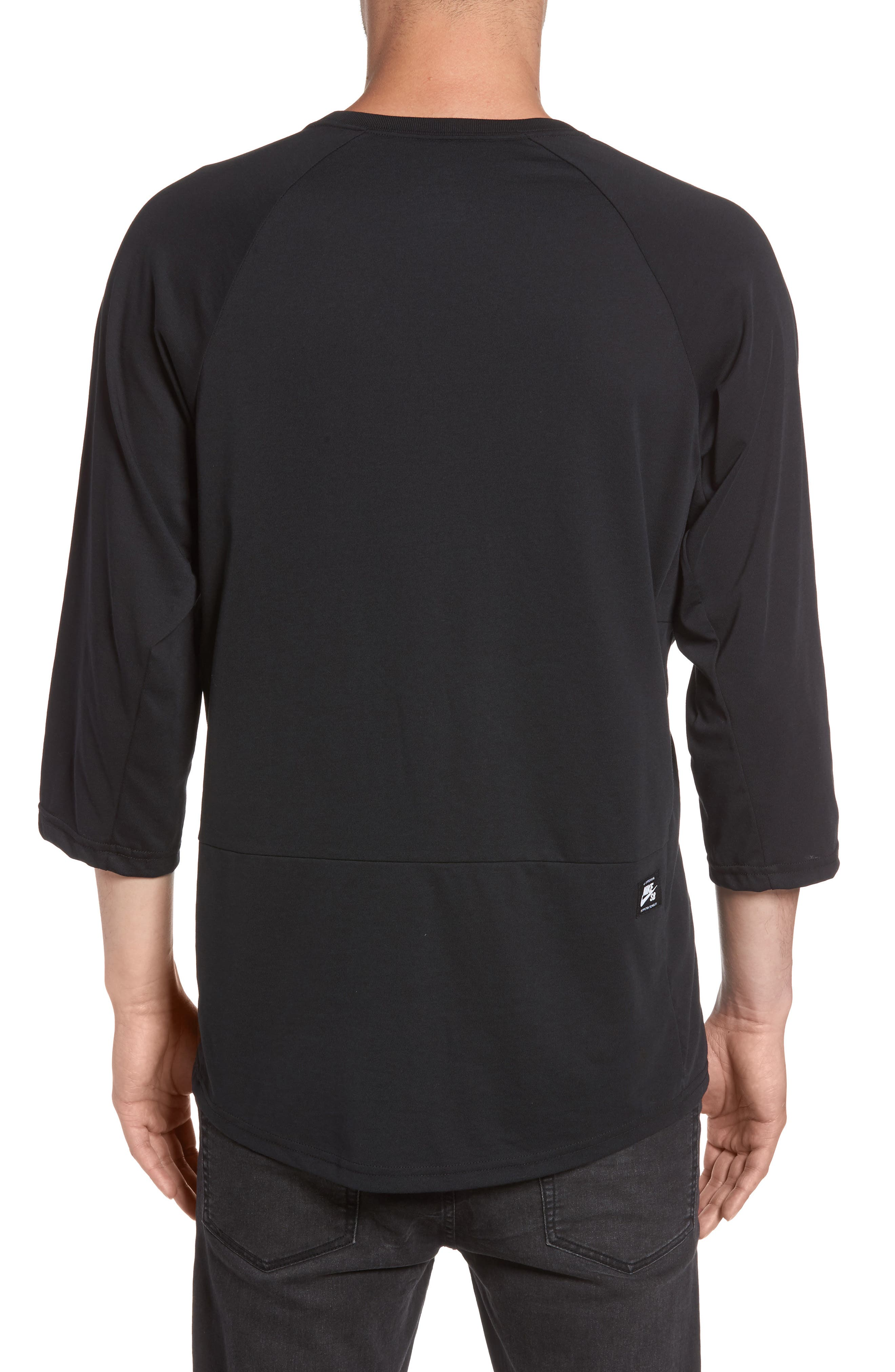 Alternate Image 2  - Nike SB Dry Baseball T-Shirt