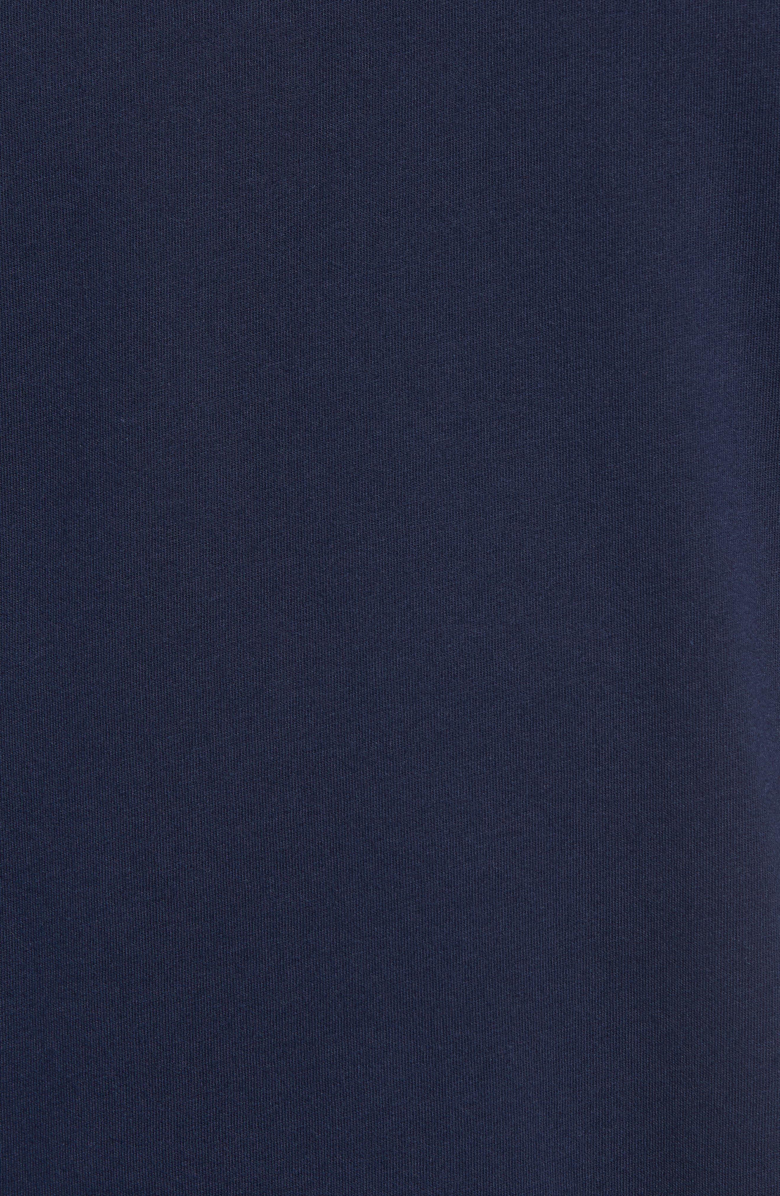 Nike Sportswear Futura T-Shirt,                             Alternate thumbnail 5, color,                             Obsidian