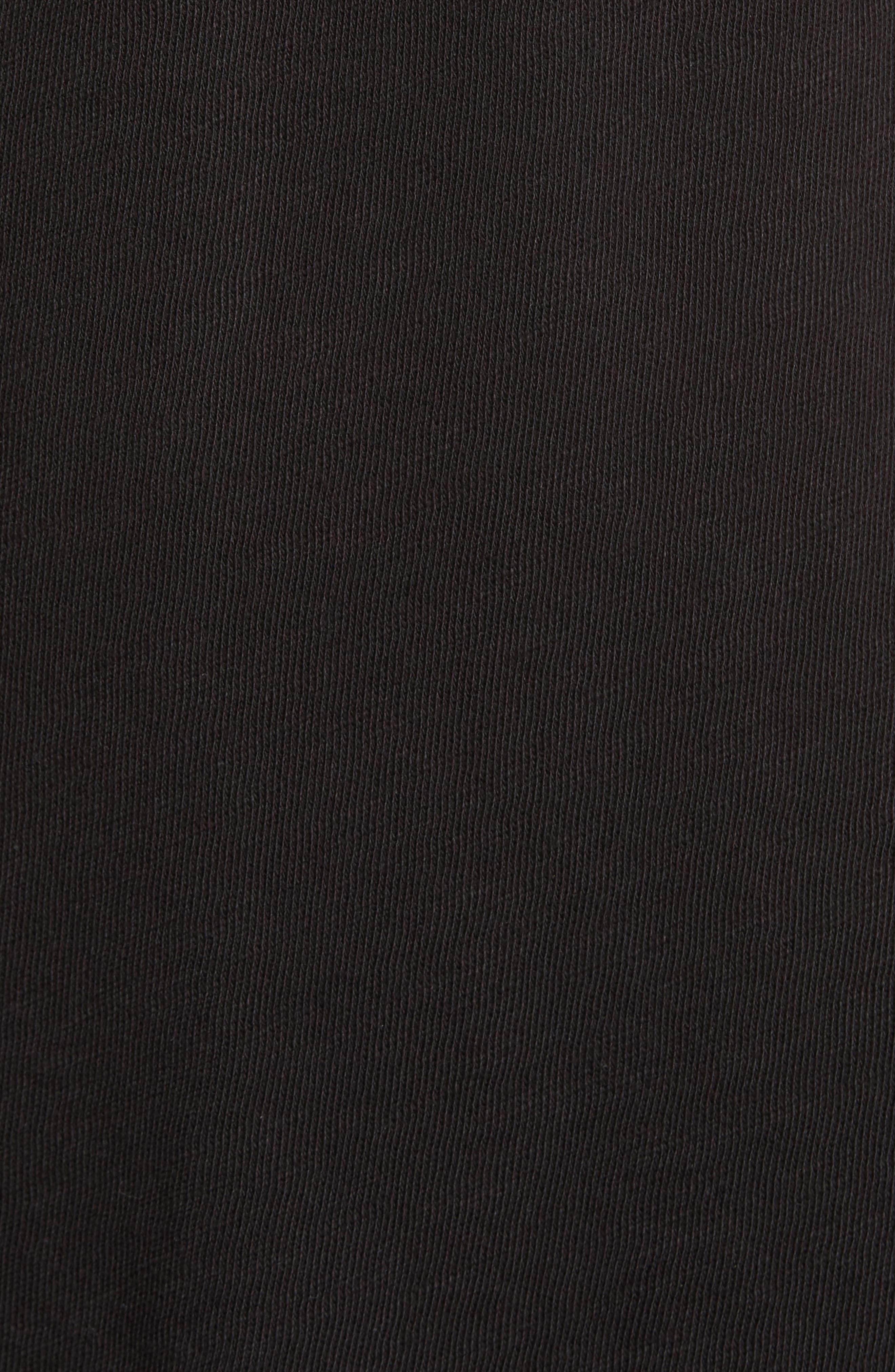 Denim Goods T-Shirt,                             Alternate thumbnail 5, color,                             Black