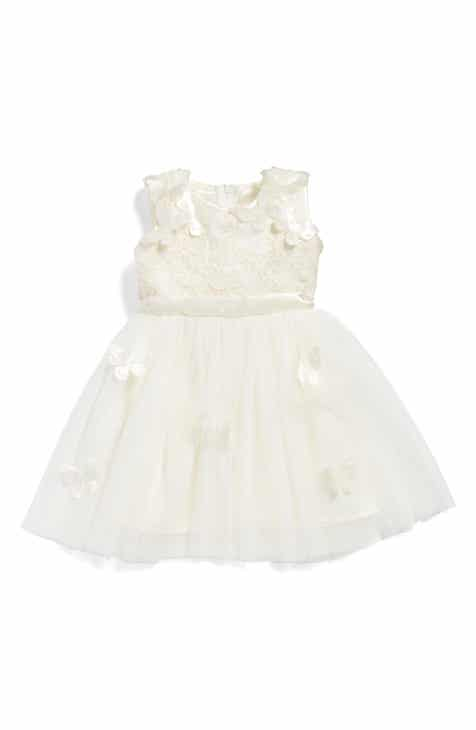 4466faddcd1 Popatu Butterfly Fit   Flare Dress (Baby Girls)