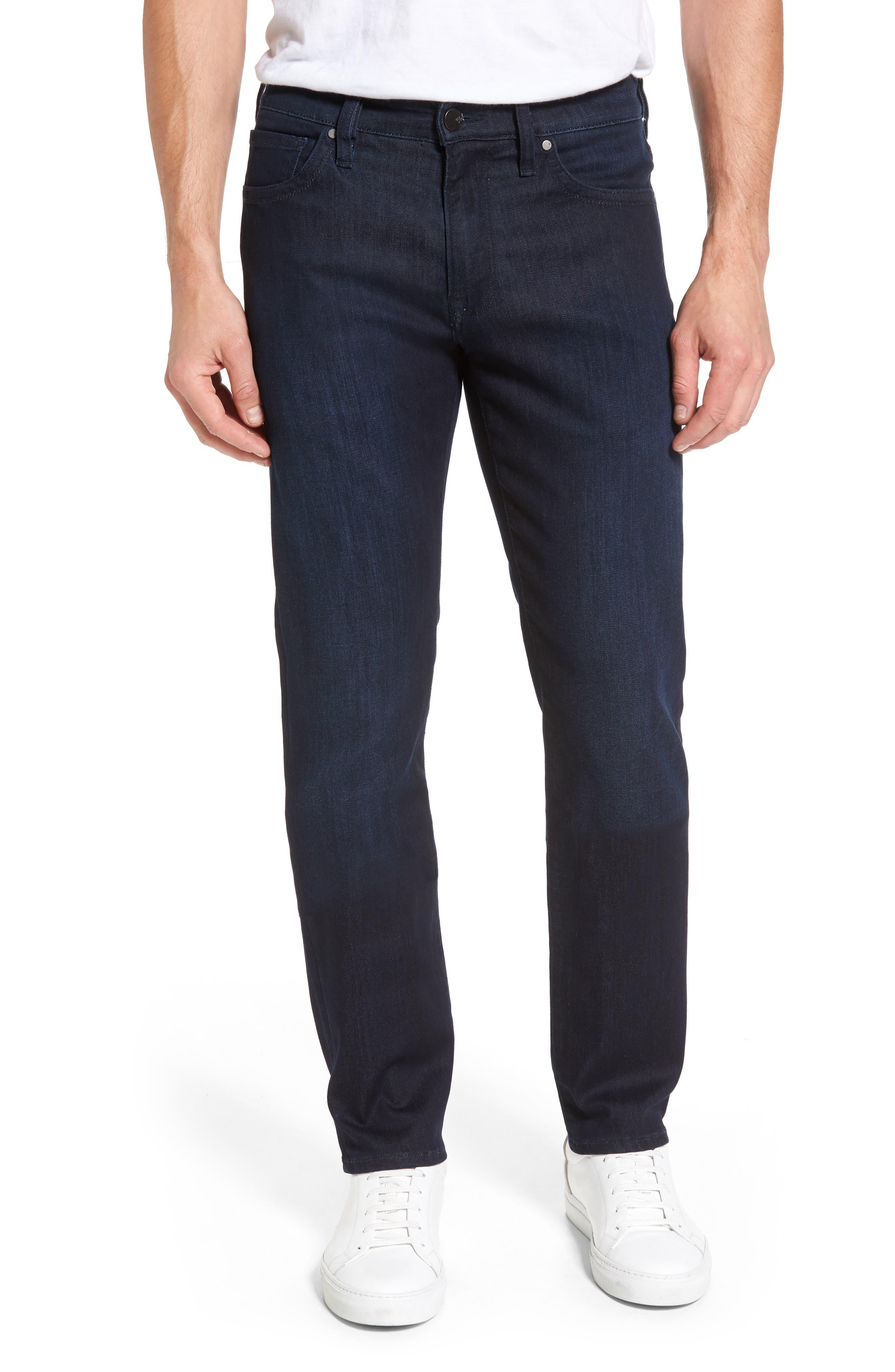 Main Image - 34 Heritage Courage Straight Leg Jeans (Dark Rome)
