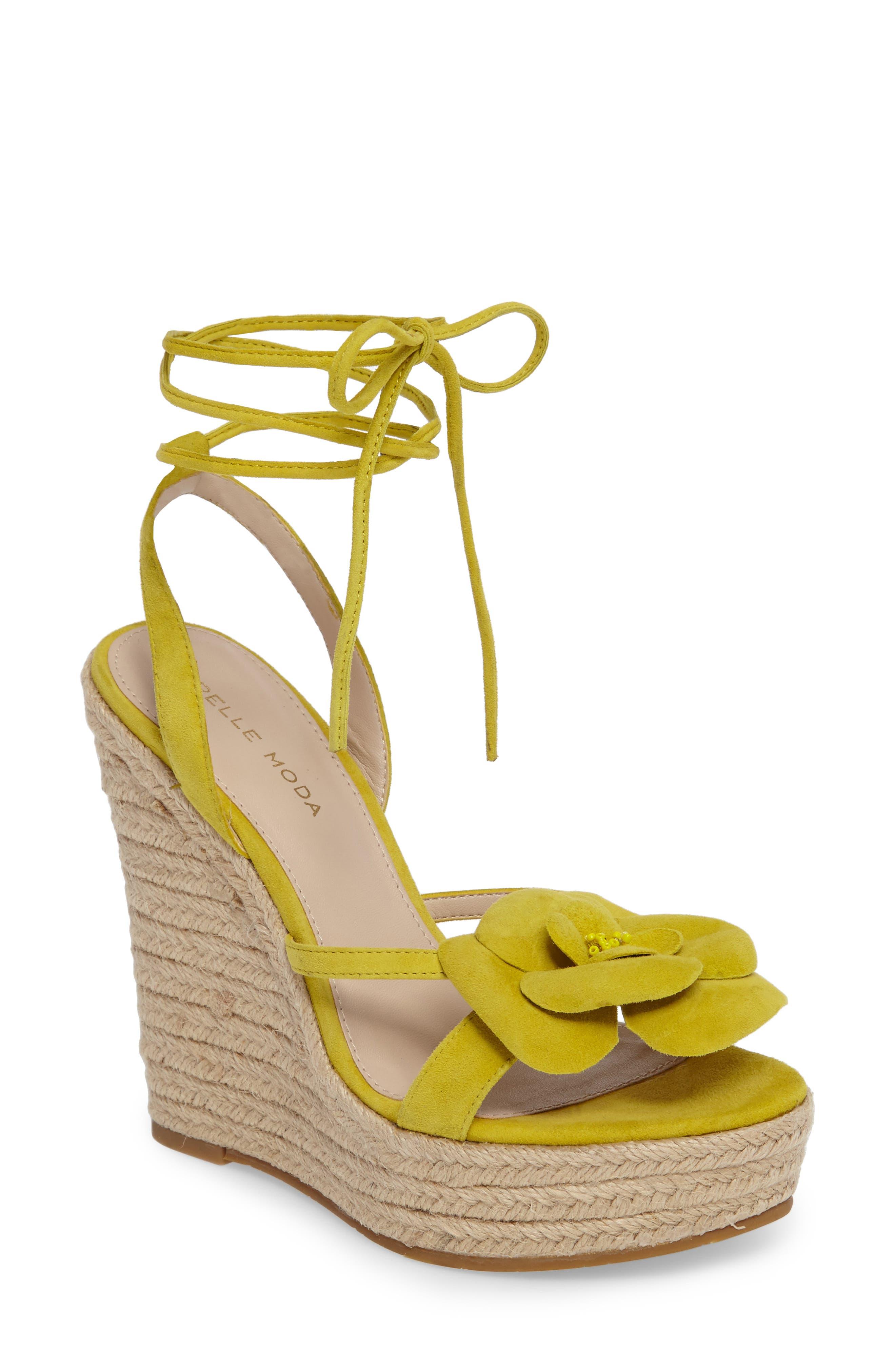 Alternate Image 1 Selected - Pelle Moda Olena Espadrille Wedge Sandal (Women)