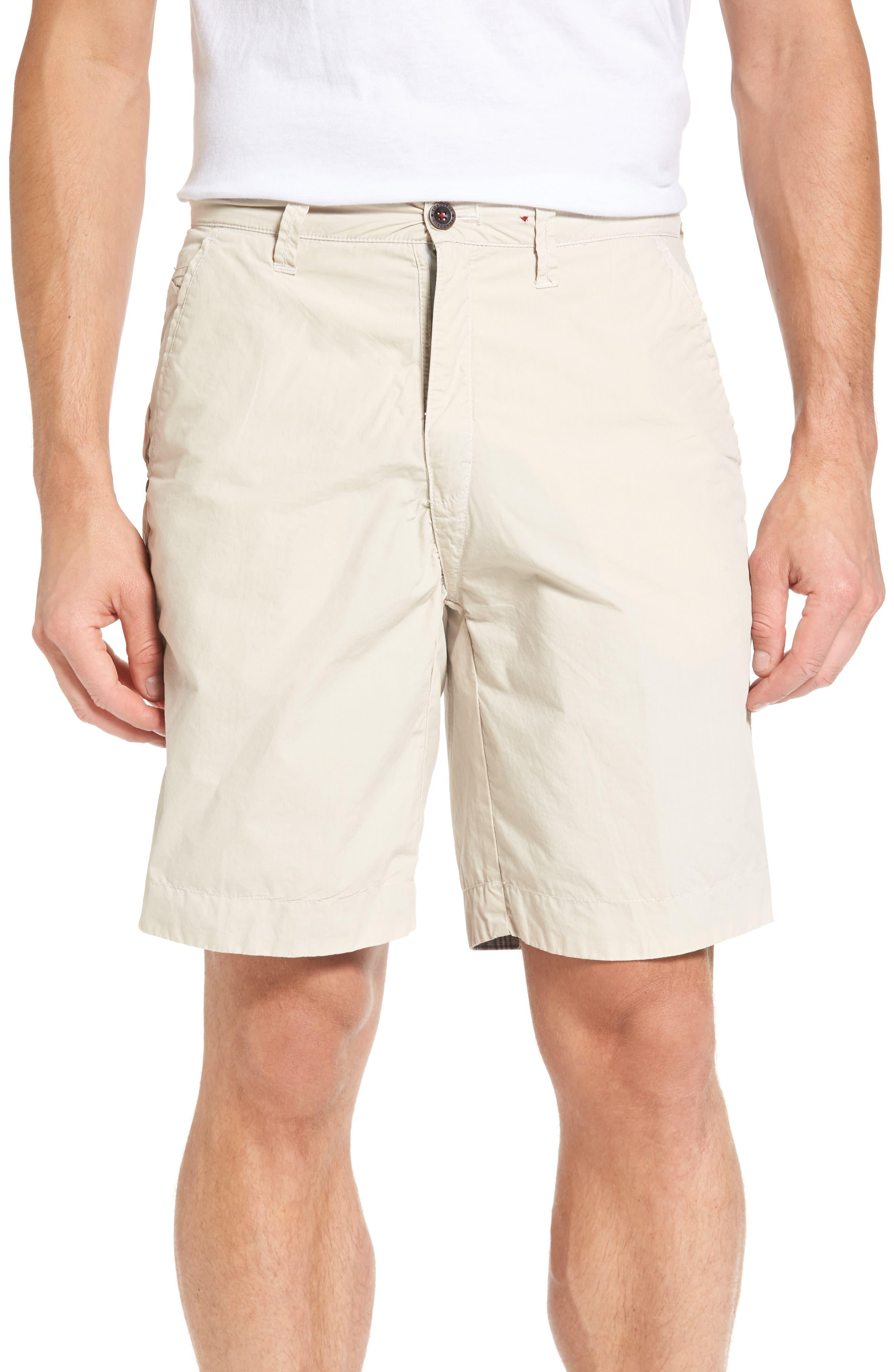 Thaddeus Darlington Reversible Flat Front Shorts