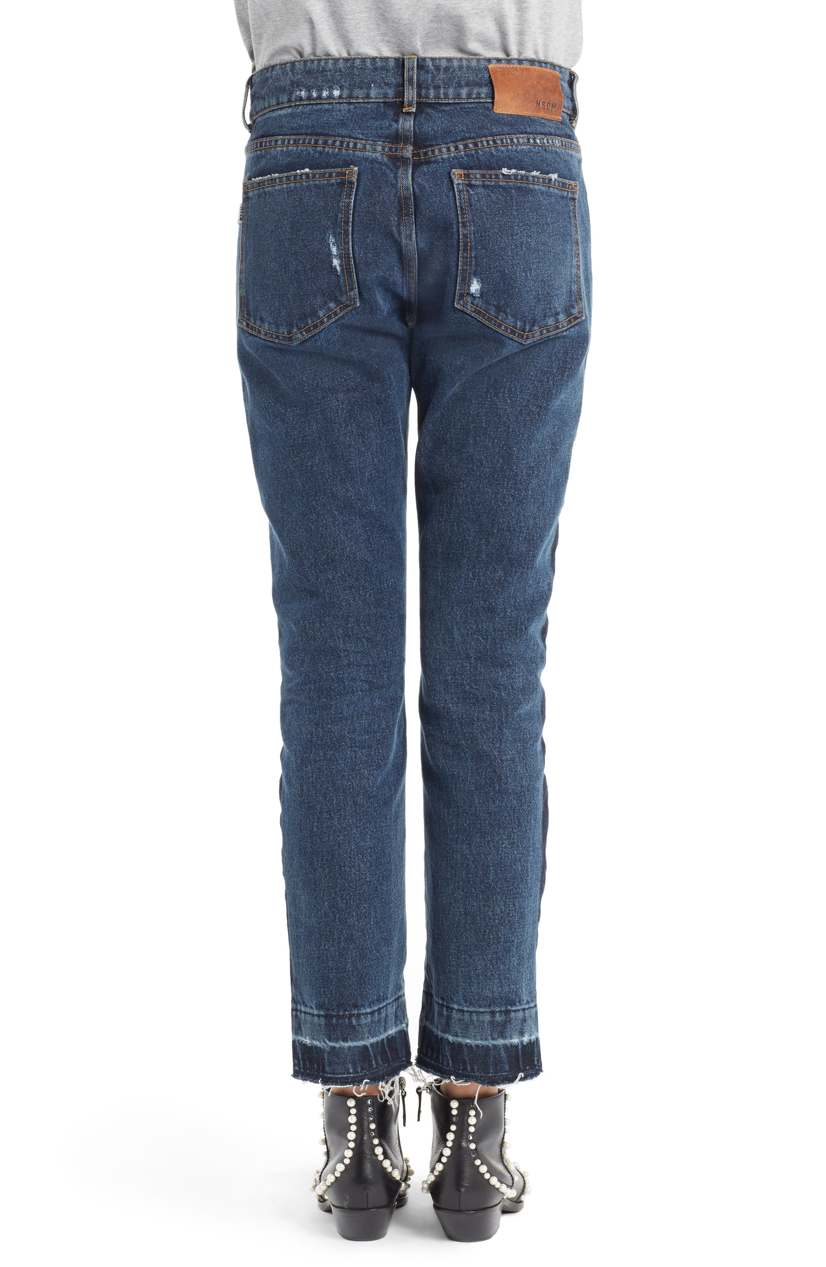 Paneled Jeans,                             Alternate thumbnail 3, color,                             Multi Washed