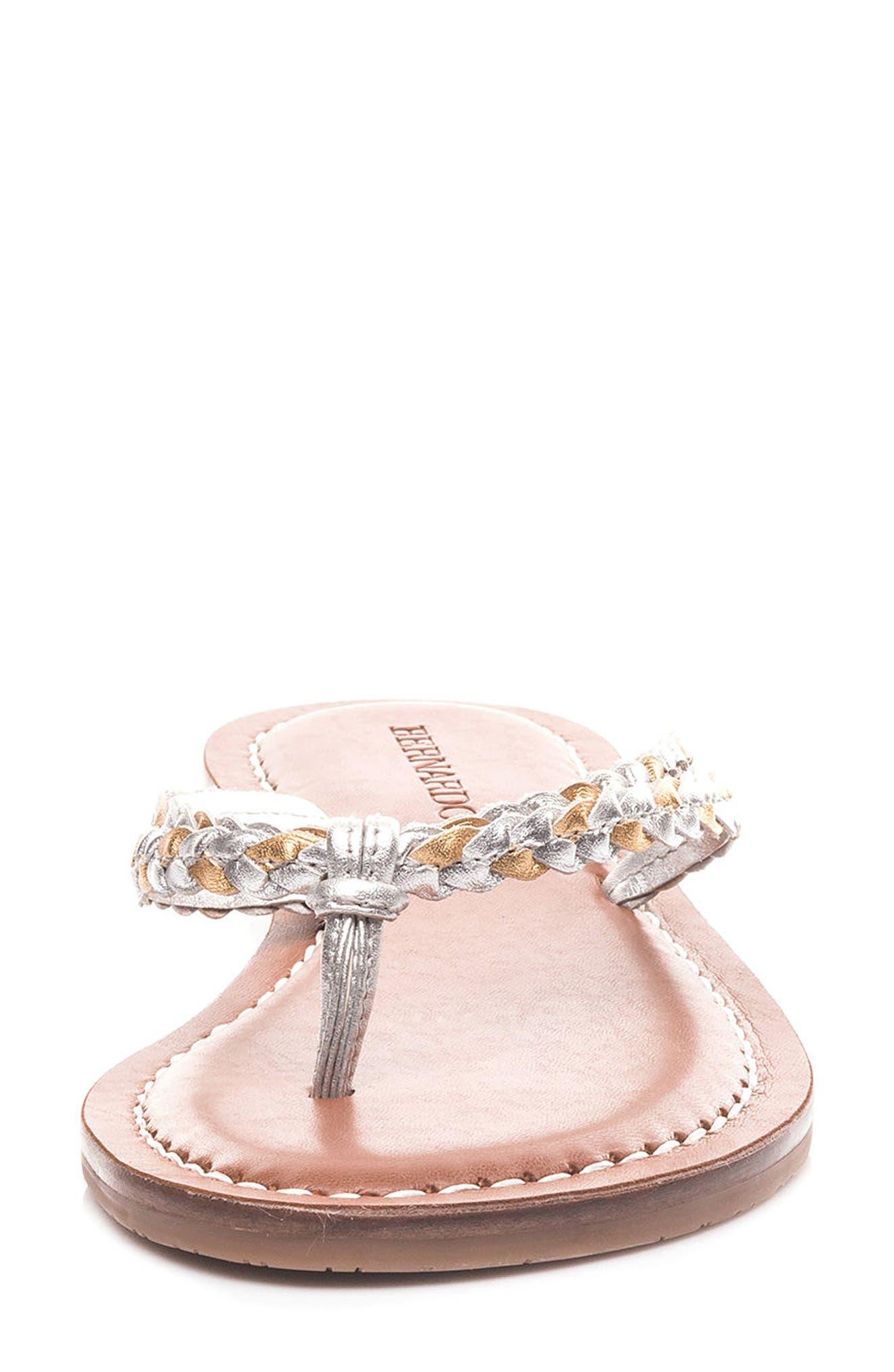 Alternate Image 4  - Bernardo Greta Braided Strap Sandal (Women)