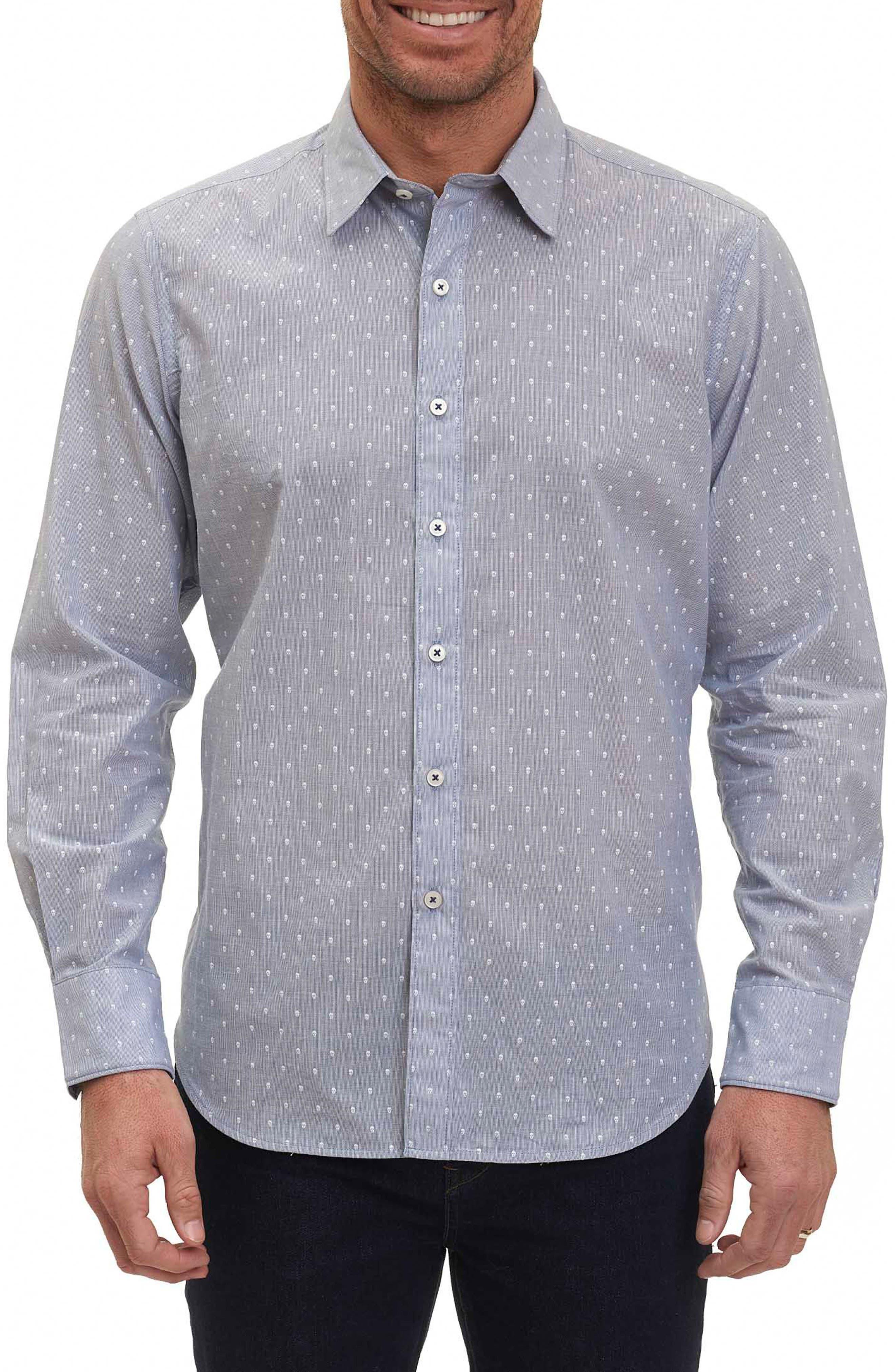 Alternate Image 1 Selected - Robert Graham Dogtown Stripe Sport Shirt
