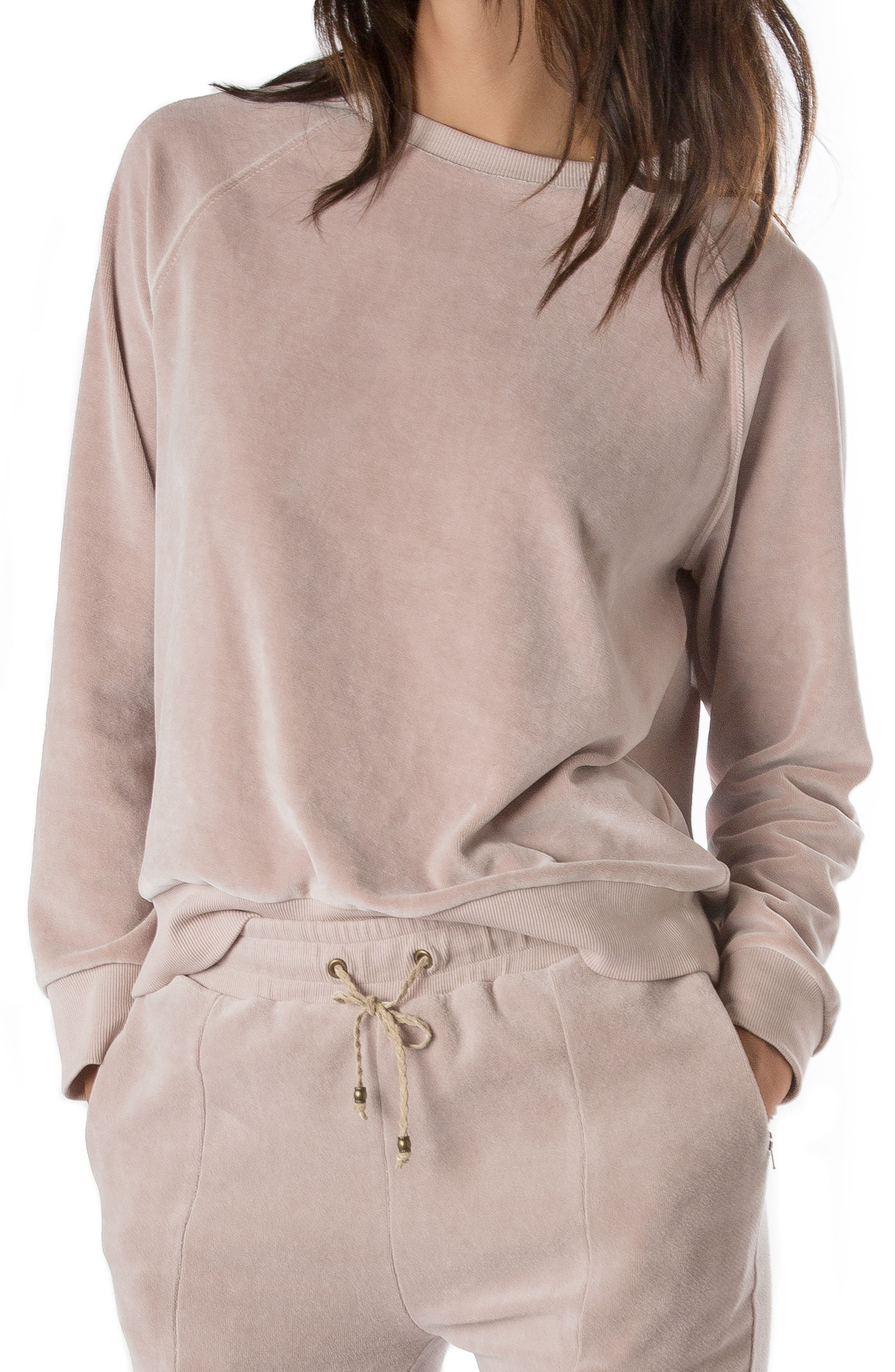 Ragdoll Velour Lounge Sweatshirt