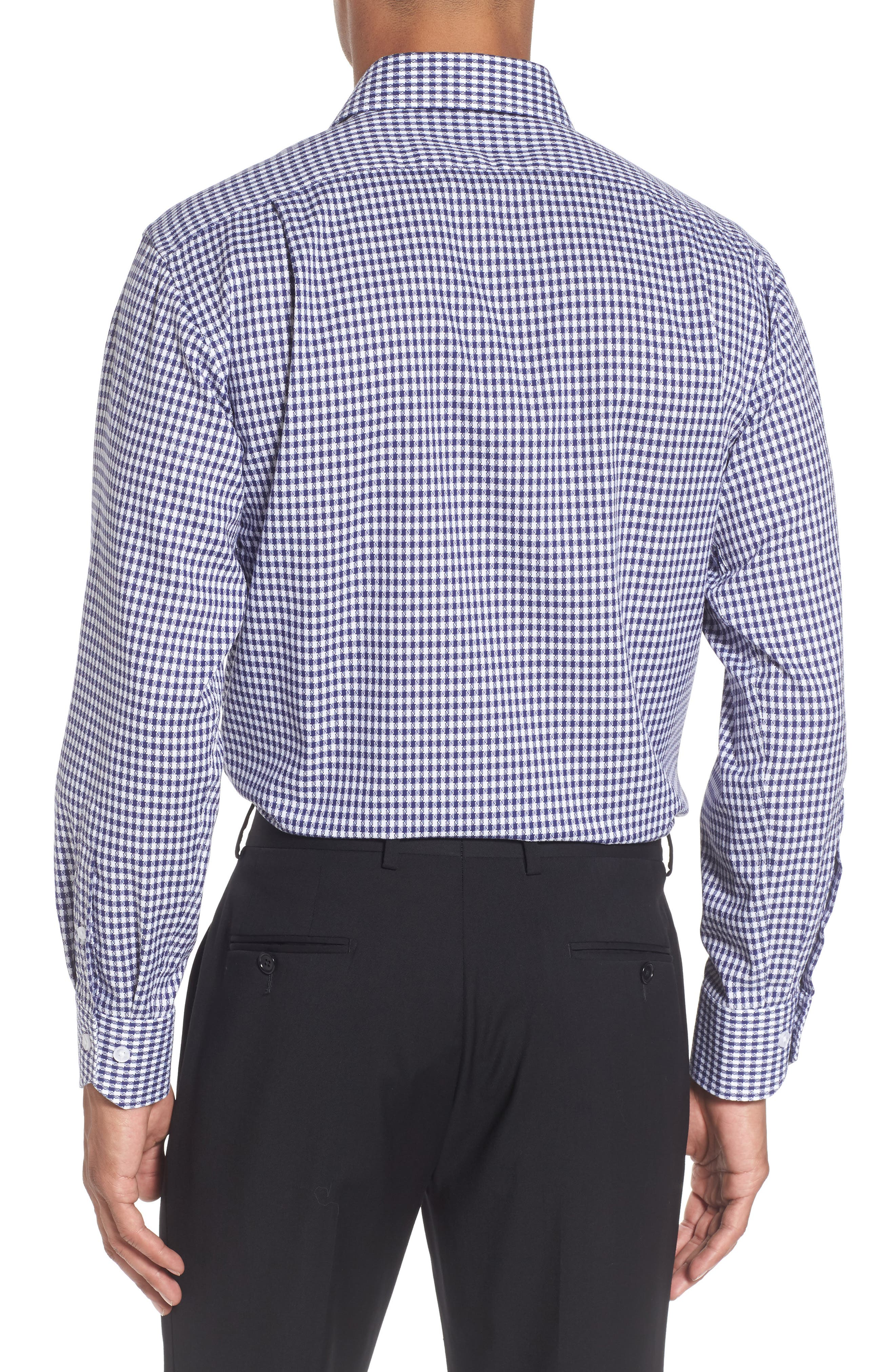 Alternate Image 3  - Lorenzo Uomo Trim Fit Check Dress Shirt