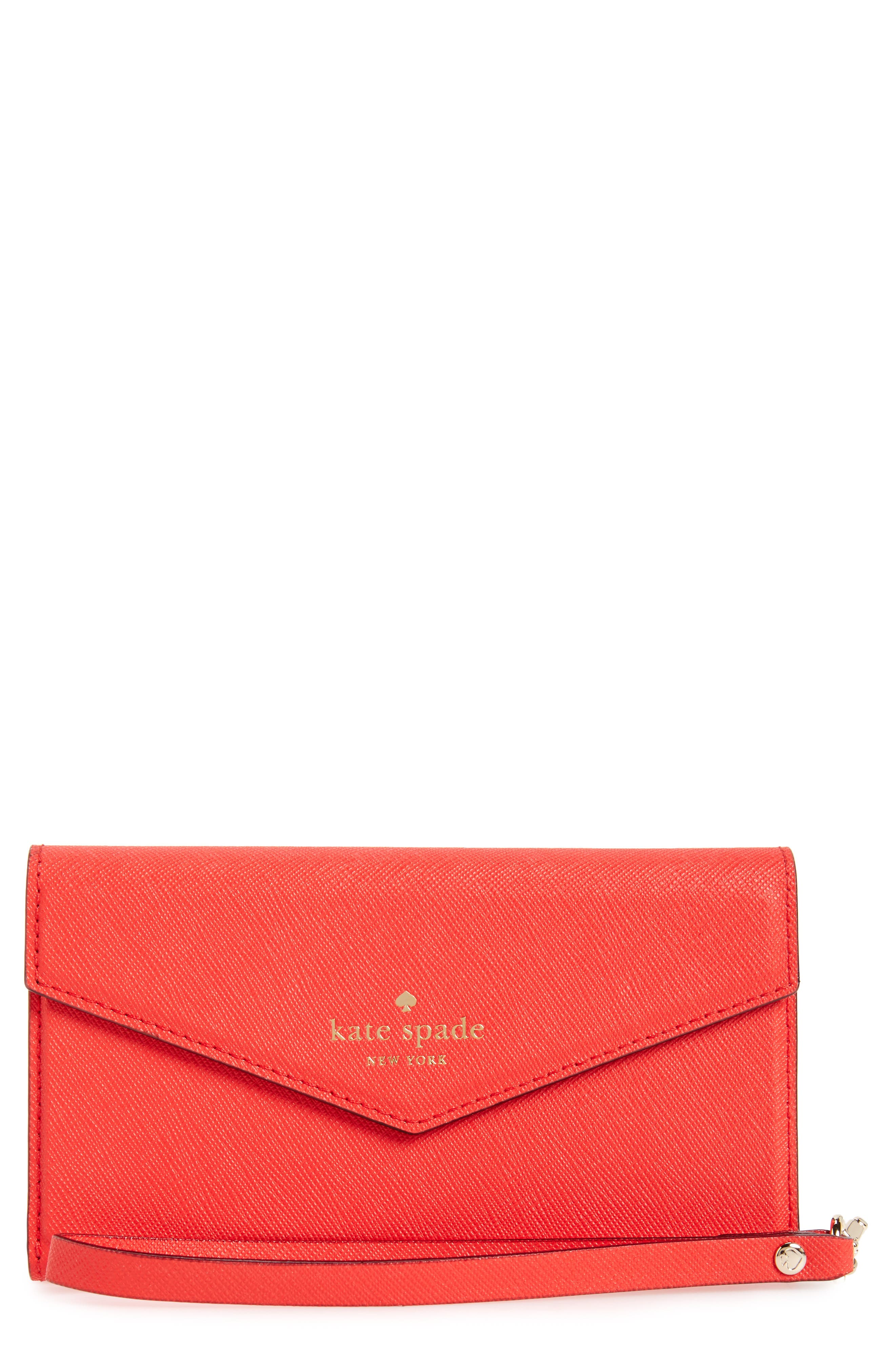 kate spade new york iPhone 7 & 7 Plus leather wristlet